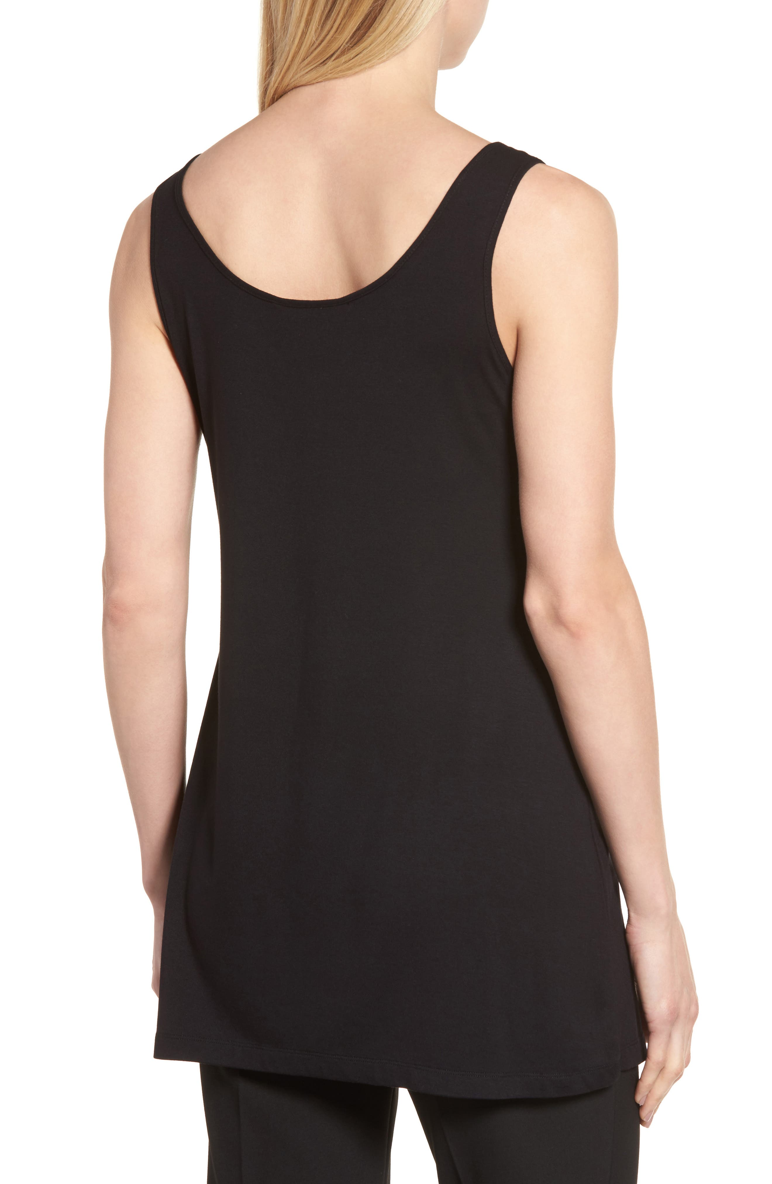 Alternate Image 2  - Ming Wang Long Jersey Tank