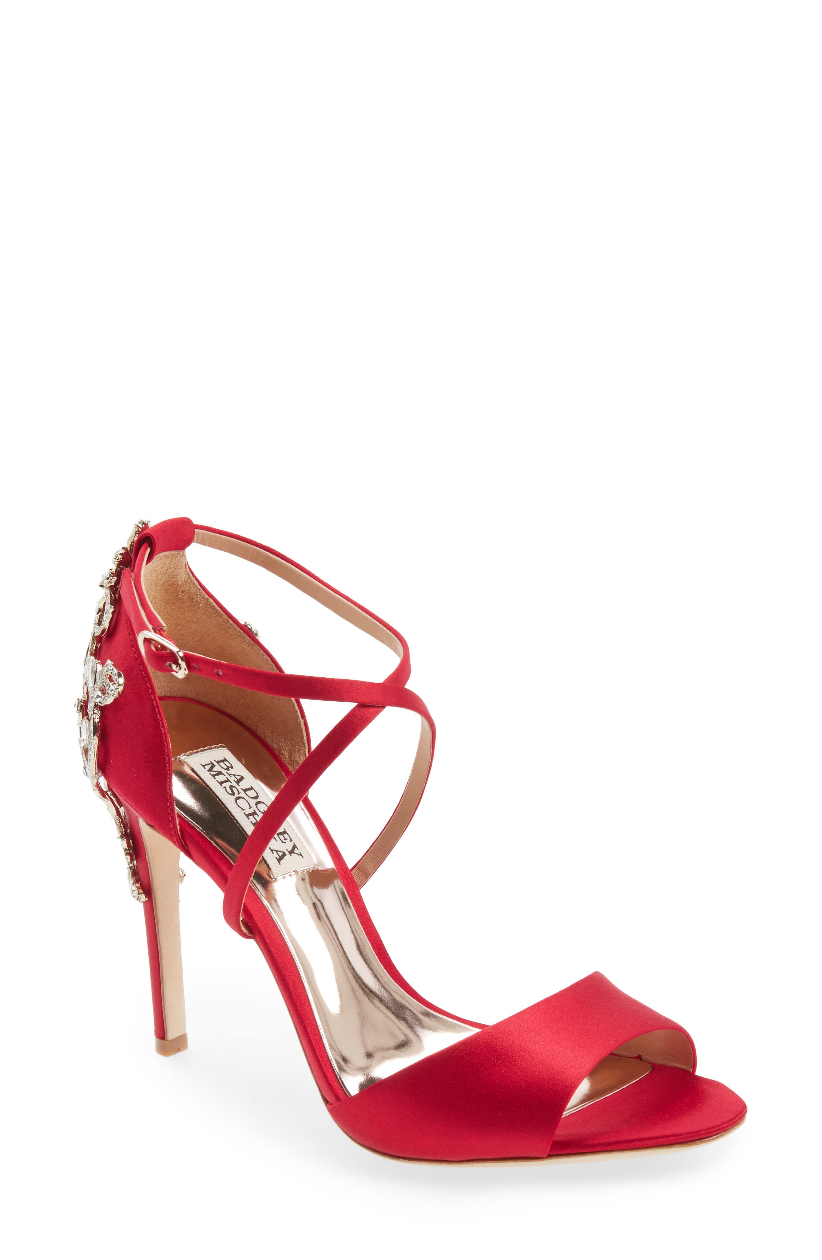 Red Strappy Heels & High-Heel Shoes for Women | Nordstrom