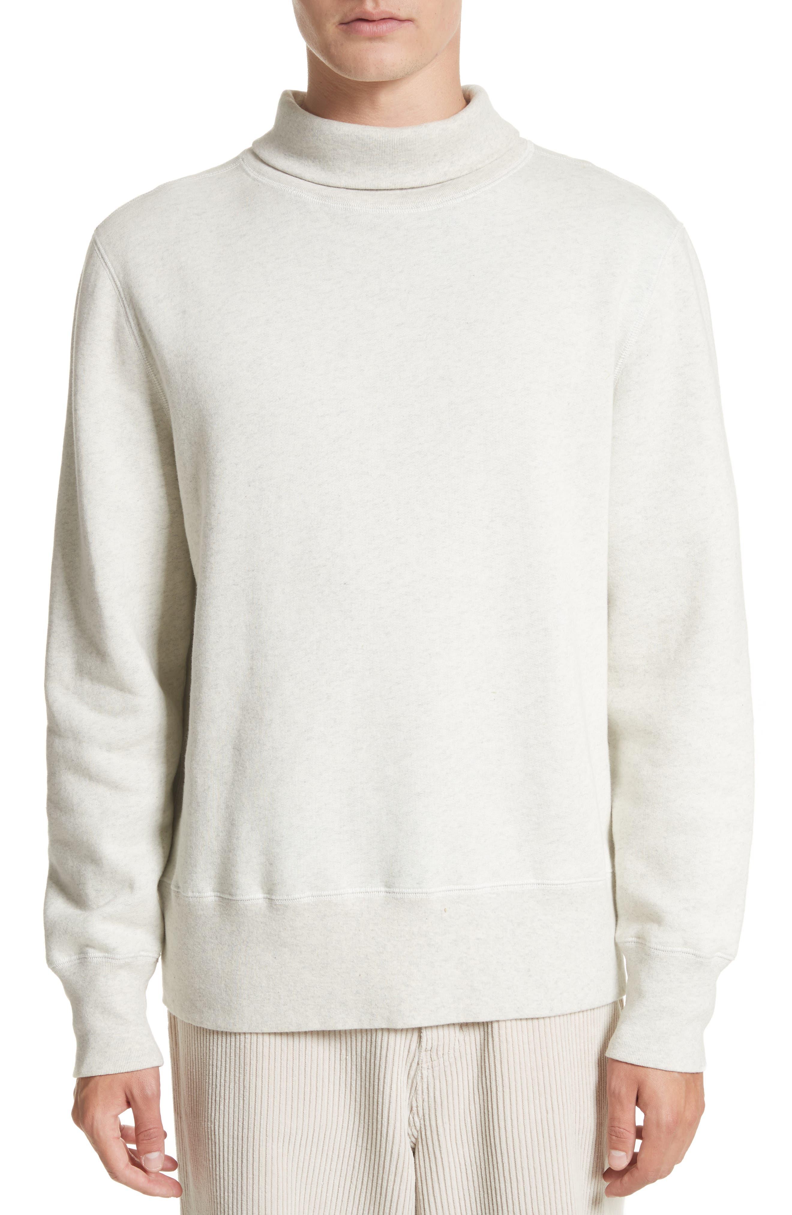 Turtleneck Sweater,                         Main,                         color, White