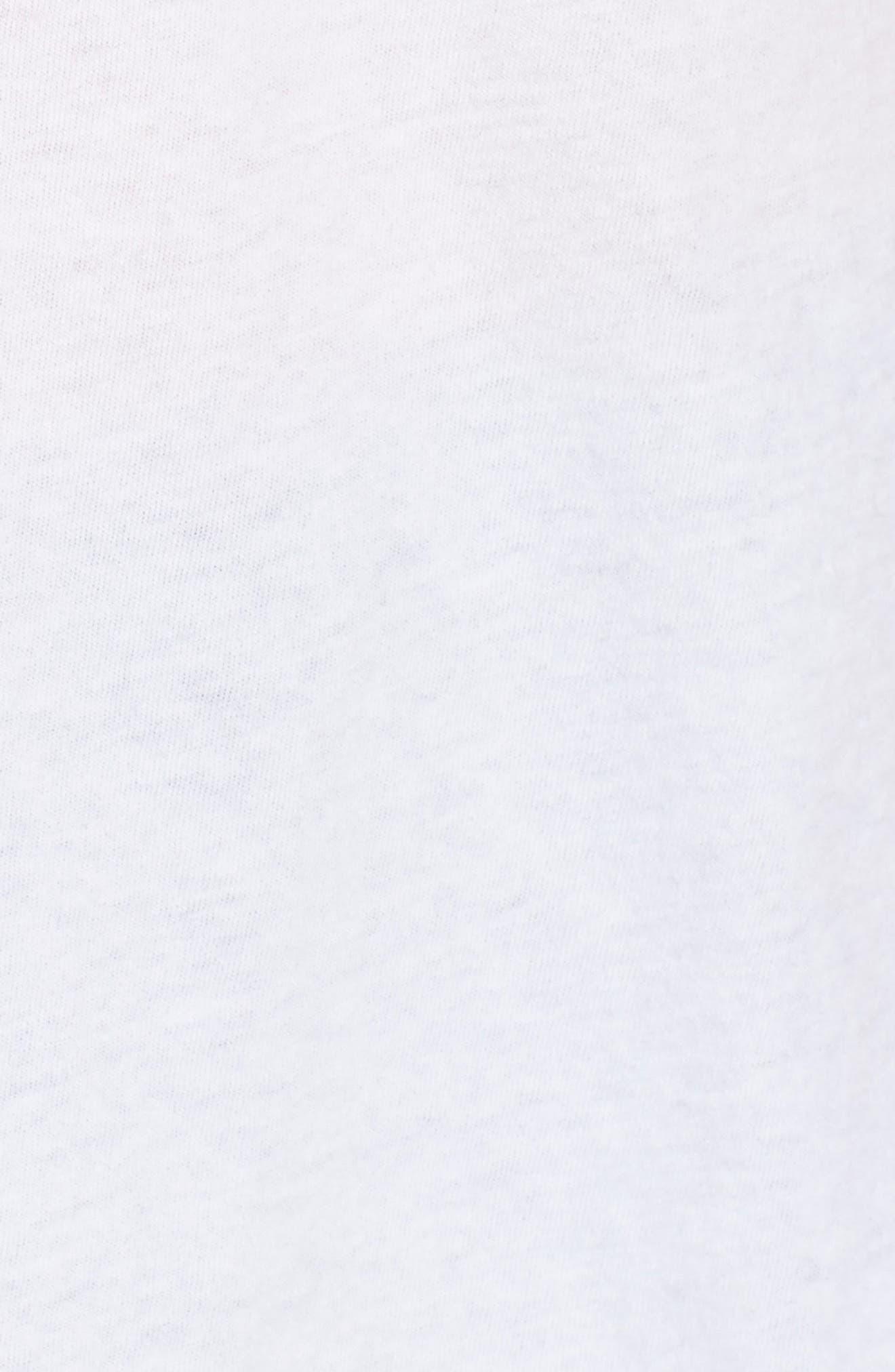 Alternate Image 5  - Sundry Football Heart Tee (Nordstrom Exclusive)