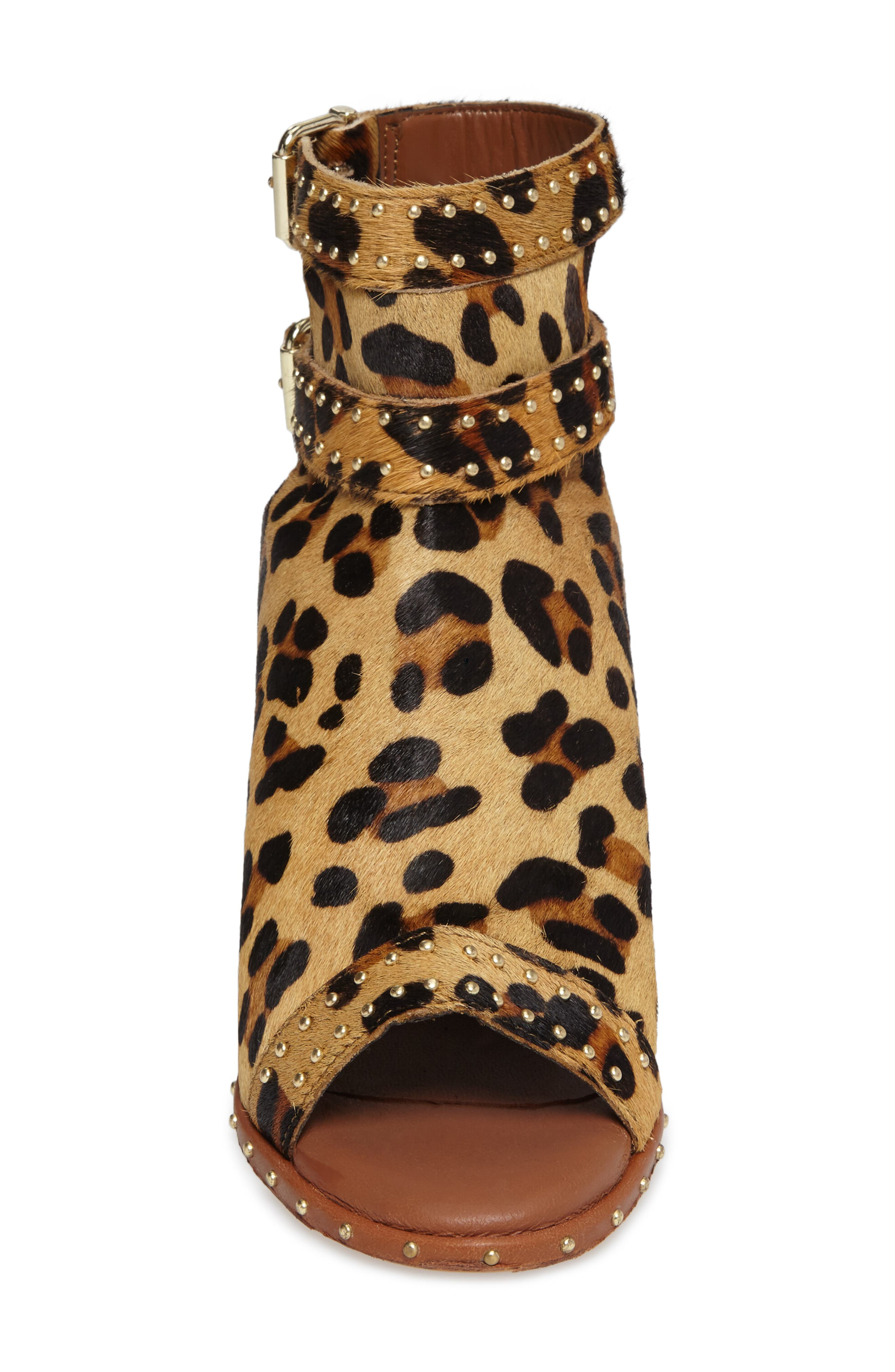 Alternate Image 4  - Topshop North Studded Bootie Sandal (Women)