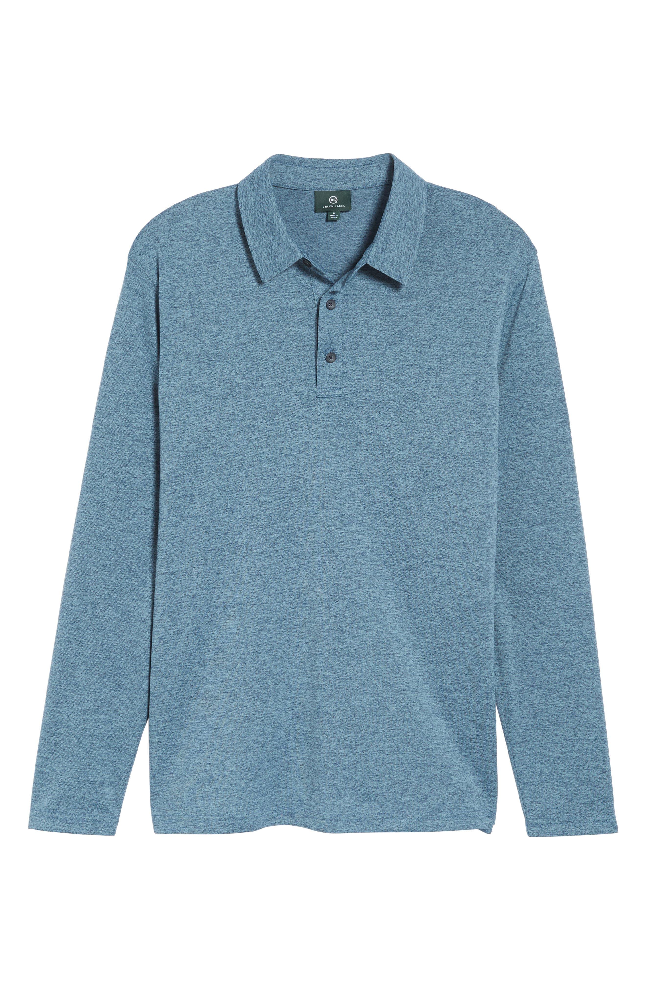 Alternate Image 6  - AG Hamden Long Sleeve Polo