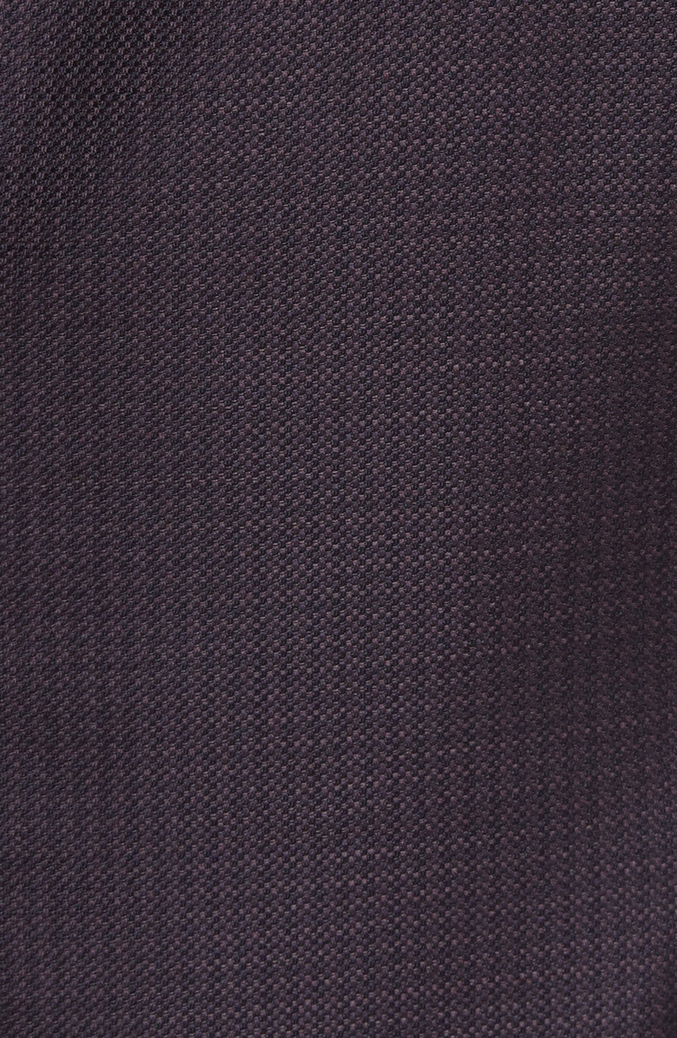 G-Line Trim Fit Houndstooth Wool Sport Coat,                             Alternate thumbnail 5, color,                             Solid Dark Red