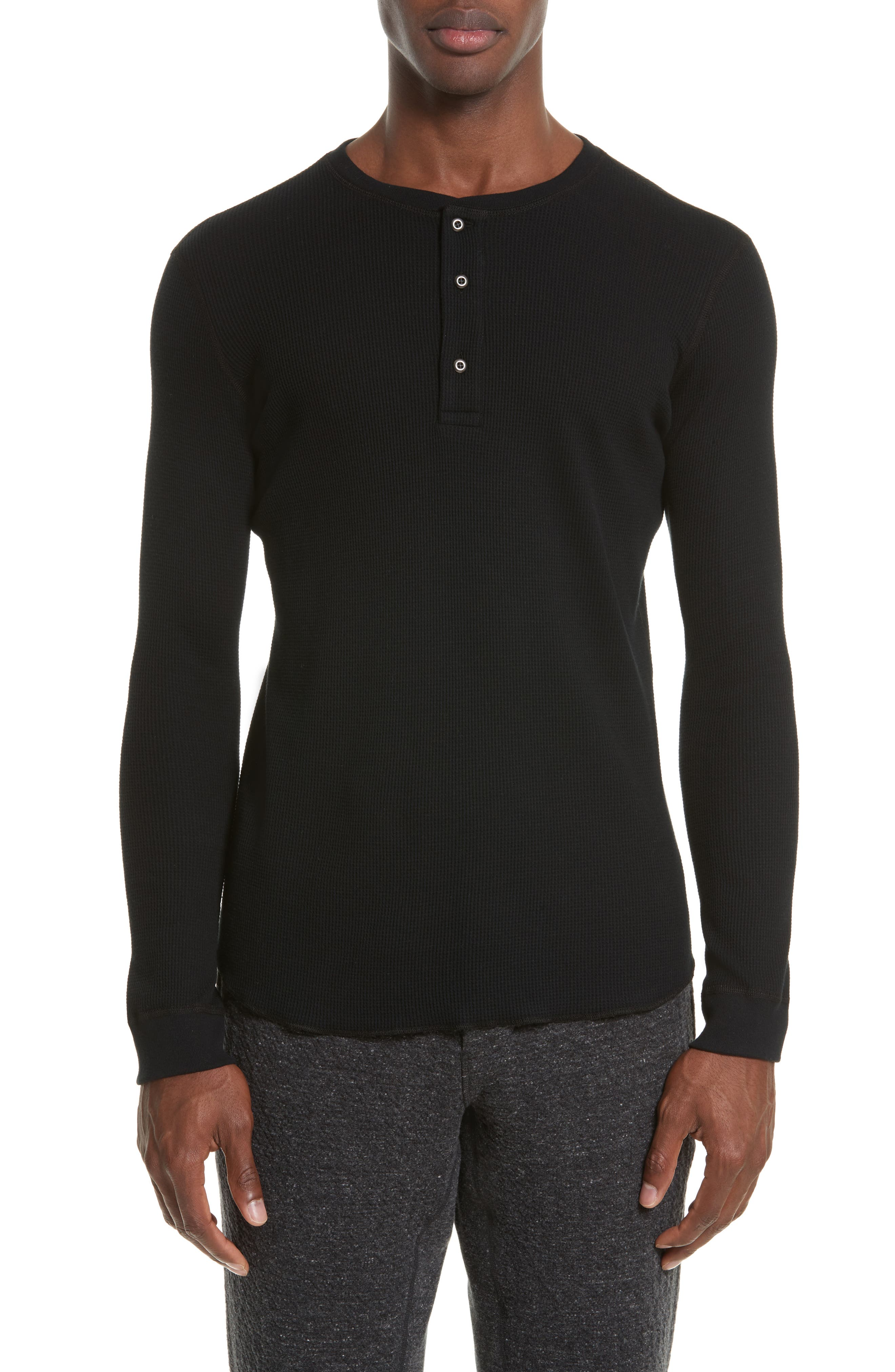 wings + horns Thermal Henley