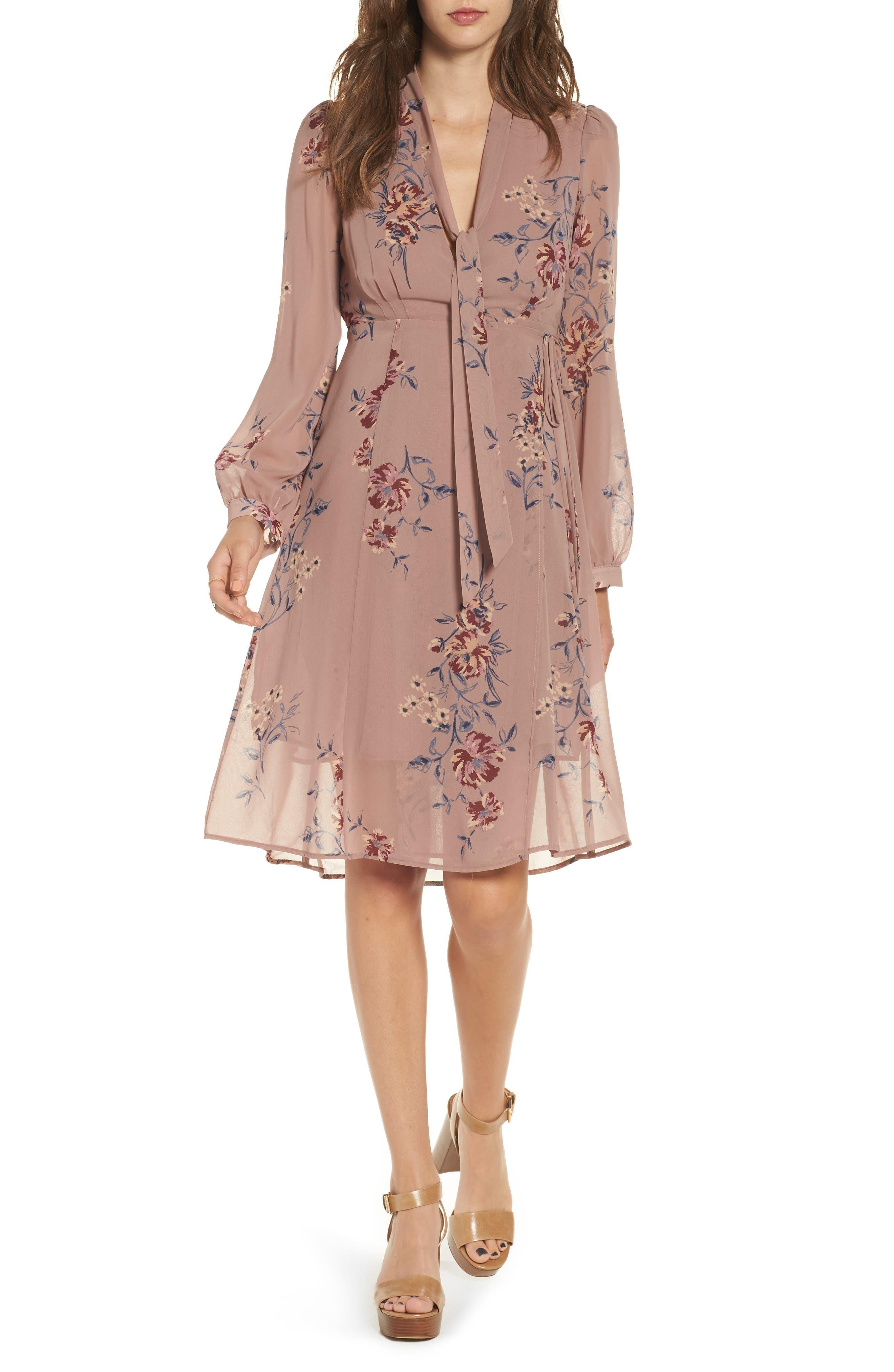 Main Image - ASTR the Label Tyra A-Line Dress