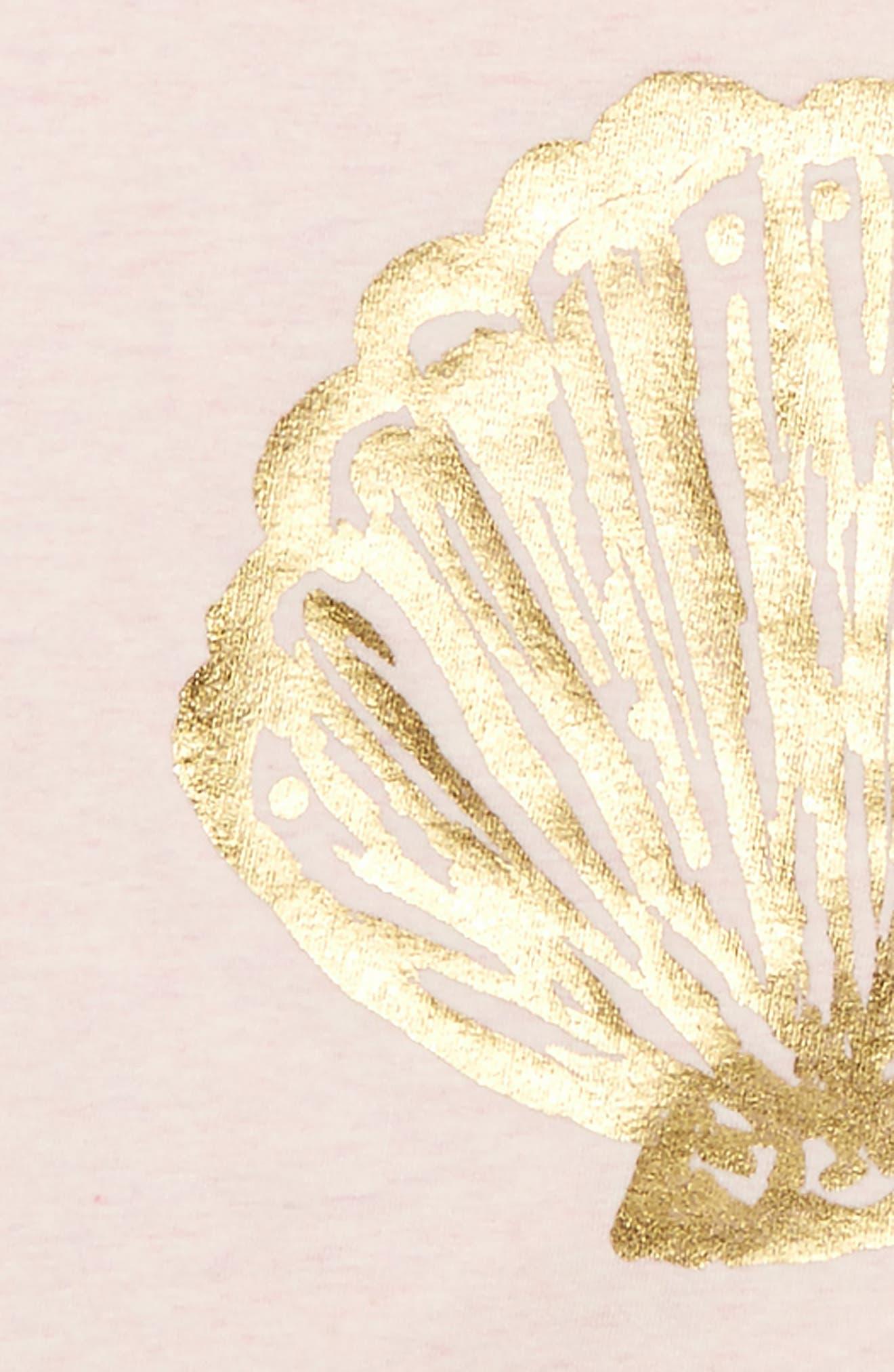 Lilly Pulitzer Shara Graphic Print Sweatshirt,                             Alternate thumbnail 2, color,                             Paradise Pink Shell