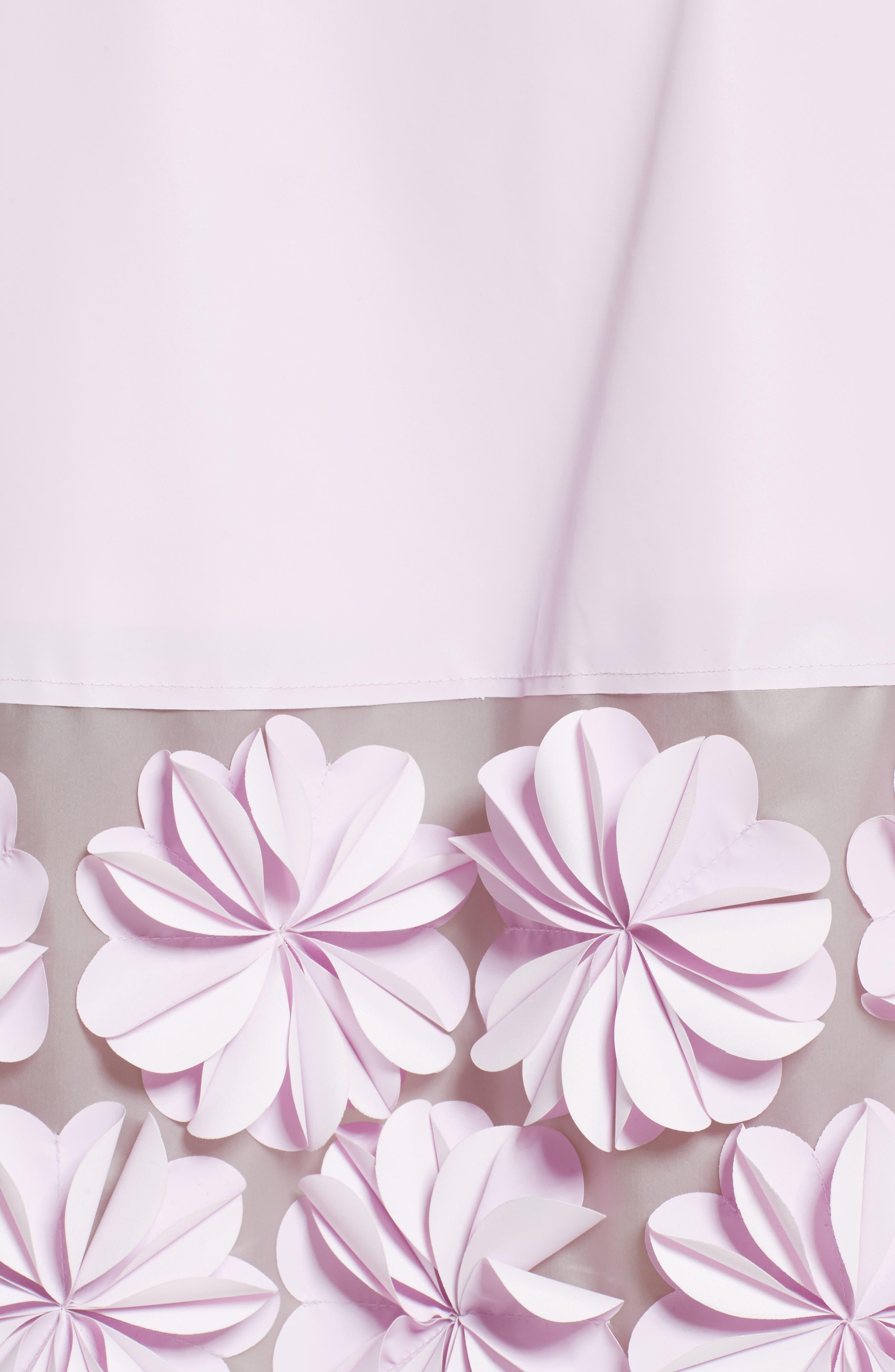 Alternate Image 5  - PASKAL Reflective Floral Appliqué Skirt