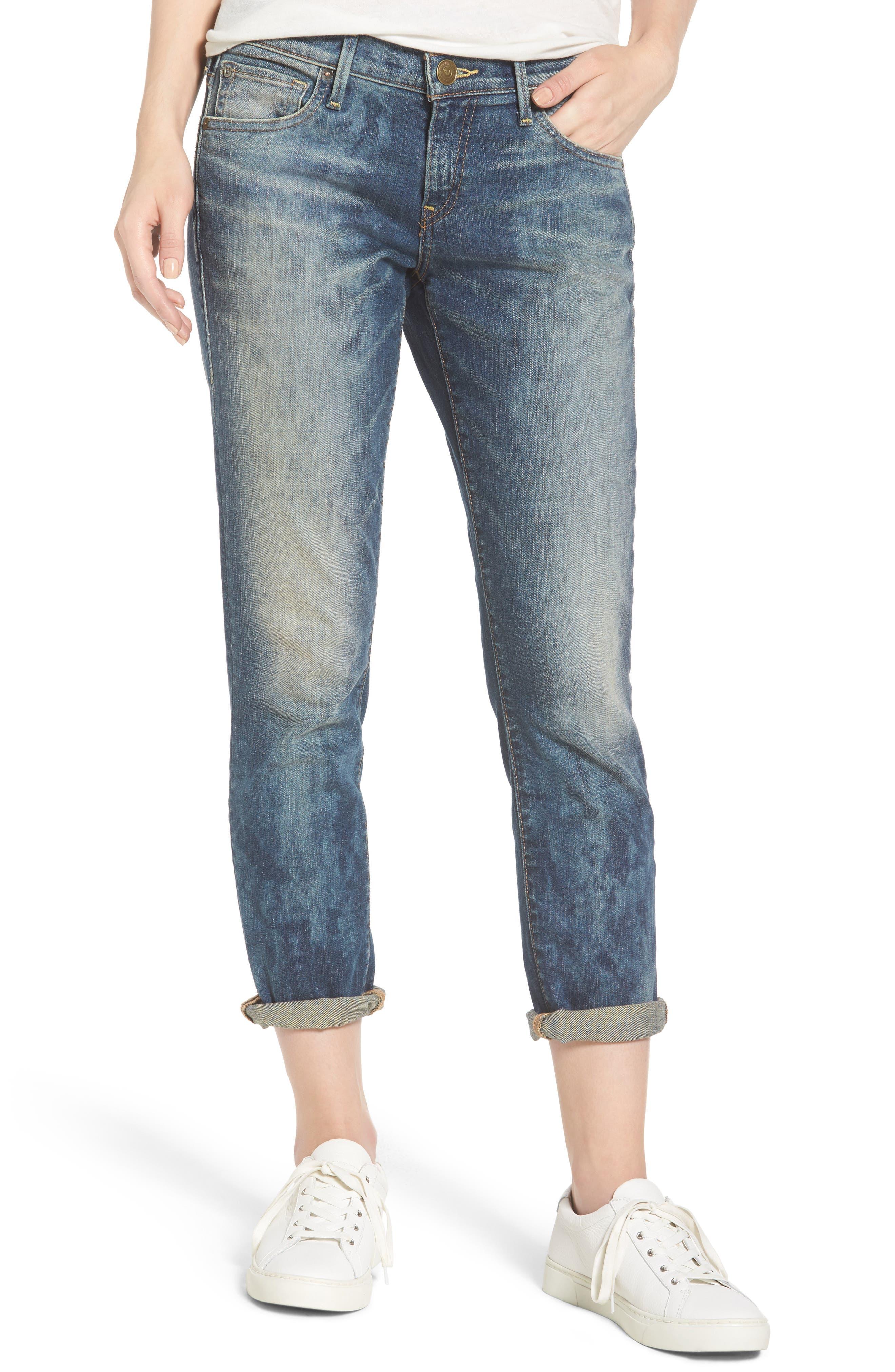 Alternate Image 1 Selected - True Religion Brand Jeans Cameron Slim Boyfriend Jeans (Distillery)