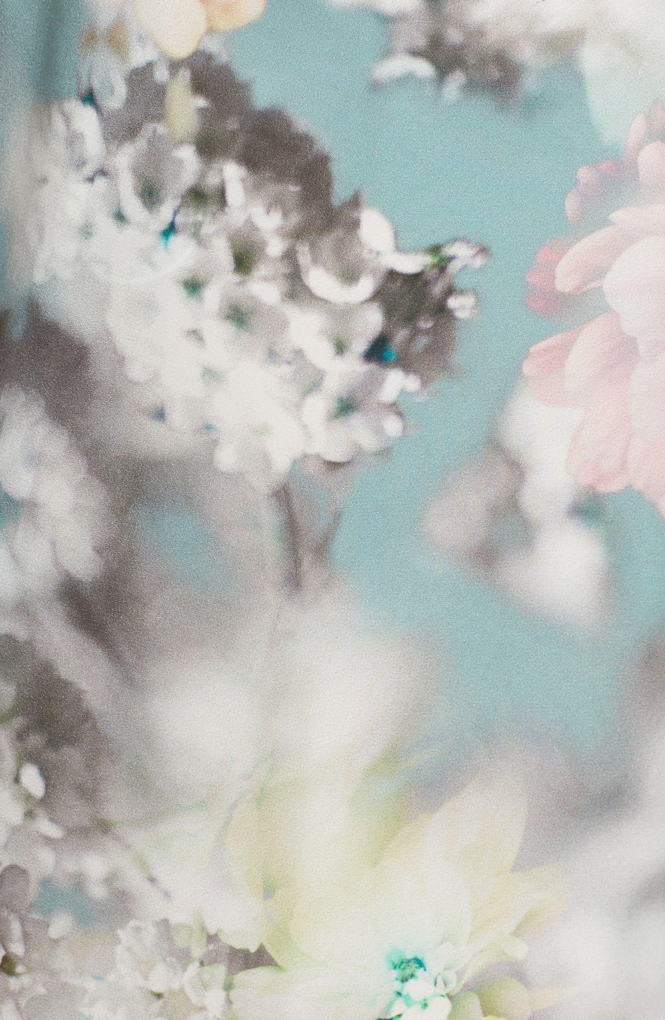 Alternate Image 6  - Flora Nikrooz Kaylee Print Wrap