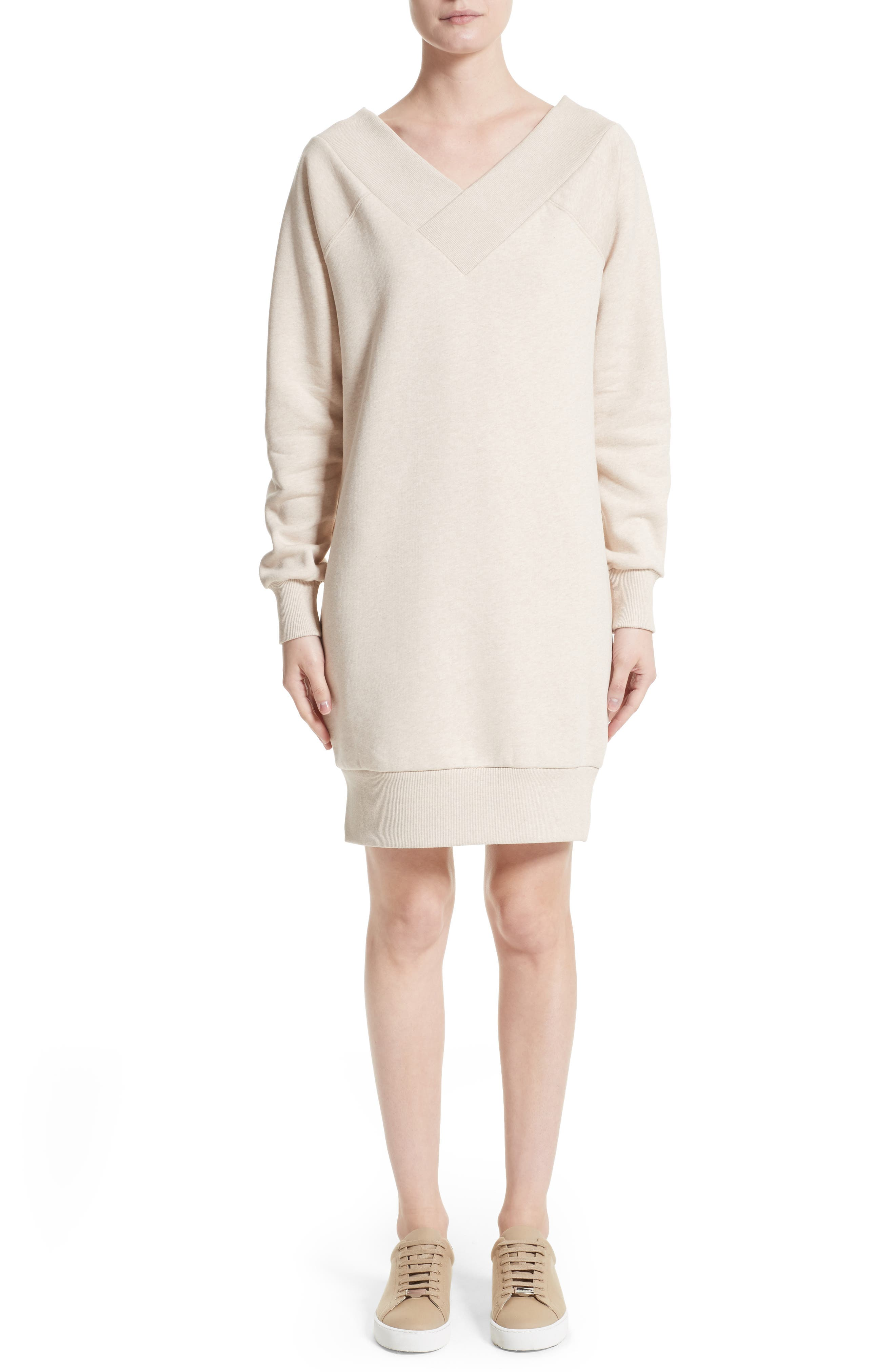 Burberry Taro Sweatshirt Dress