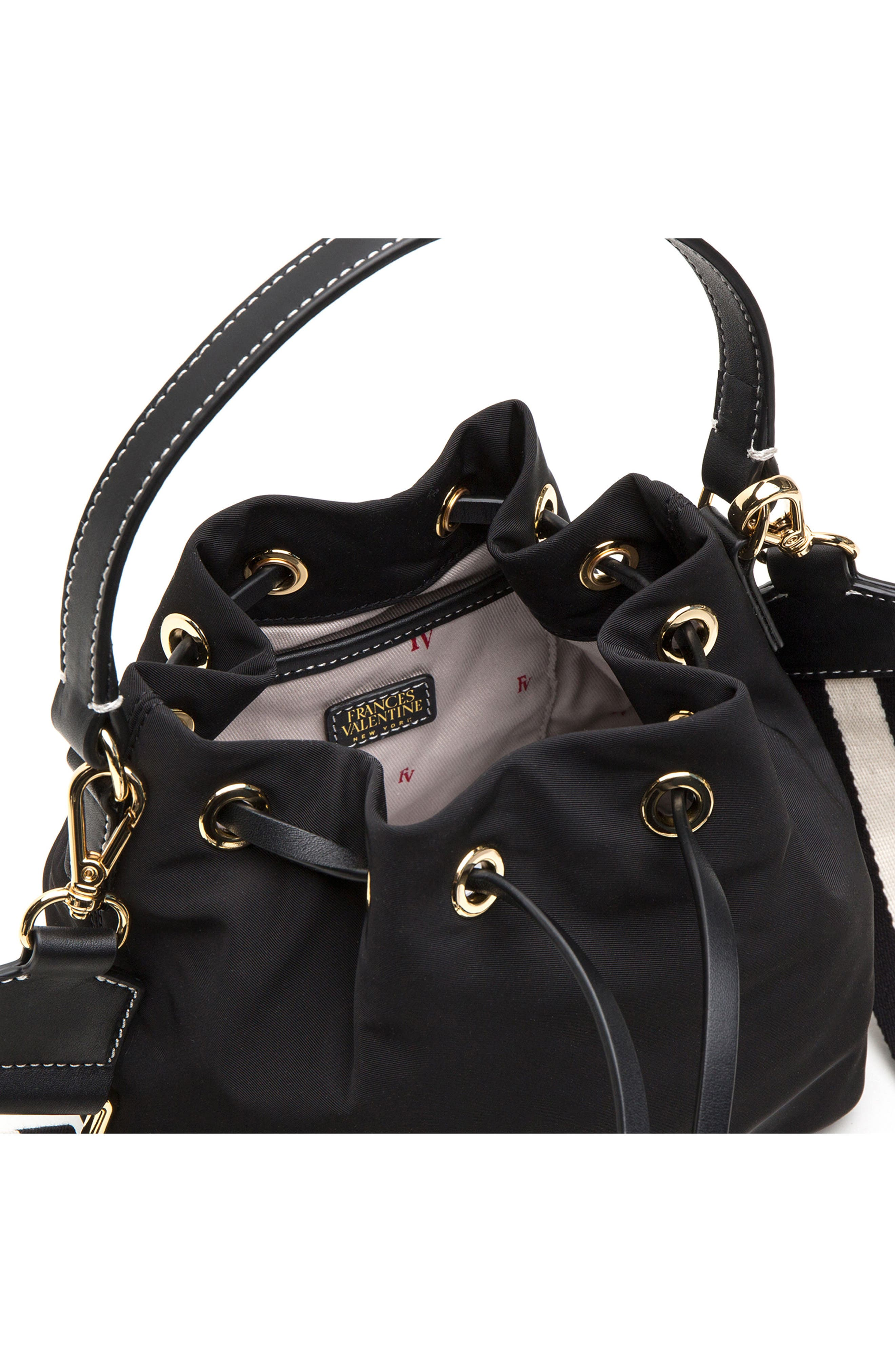 Alternate Image 5  - Frances Valentine Small Ann Nylon Bucket Bag