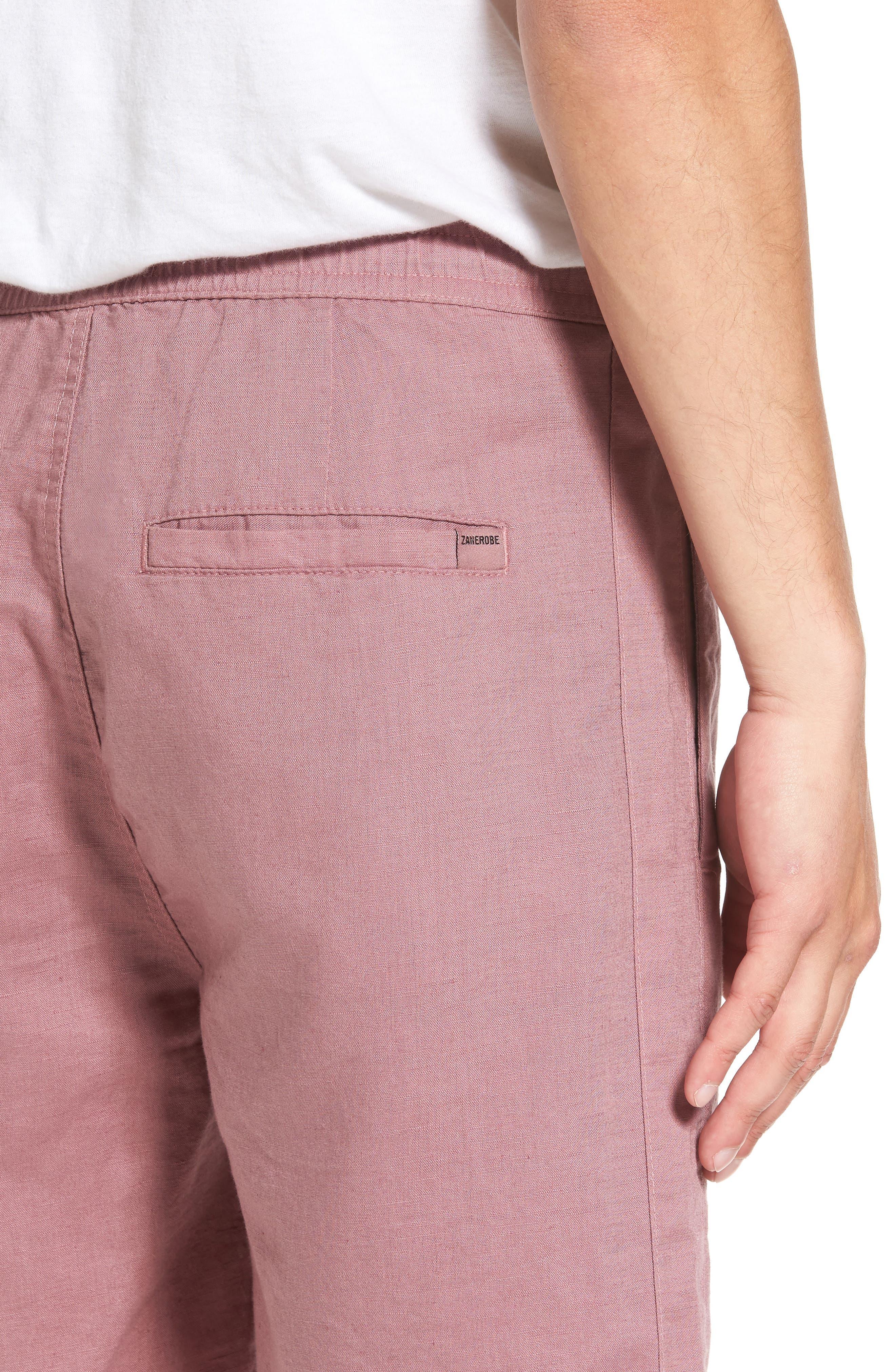 Alternate Image 4  - ZANEROBE Omni Linen Blend Shorts