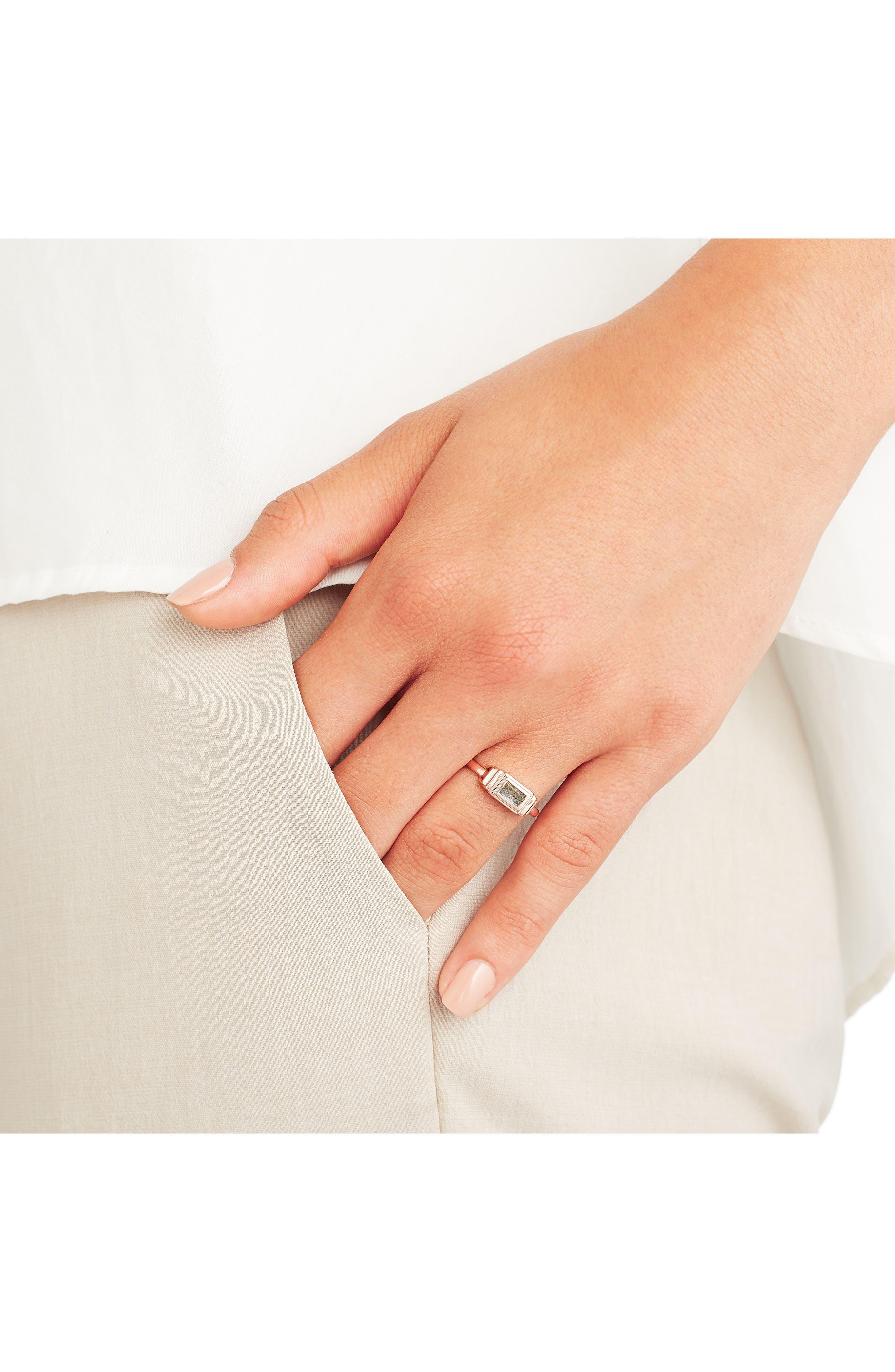 Alternate Image 3  - Monica Vinader Baja Deco Semiprecious Stone Ring