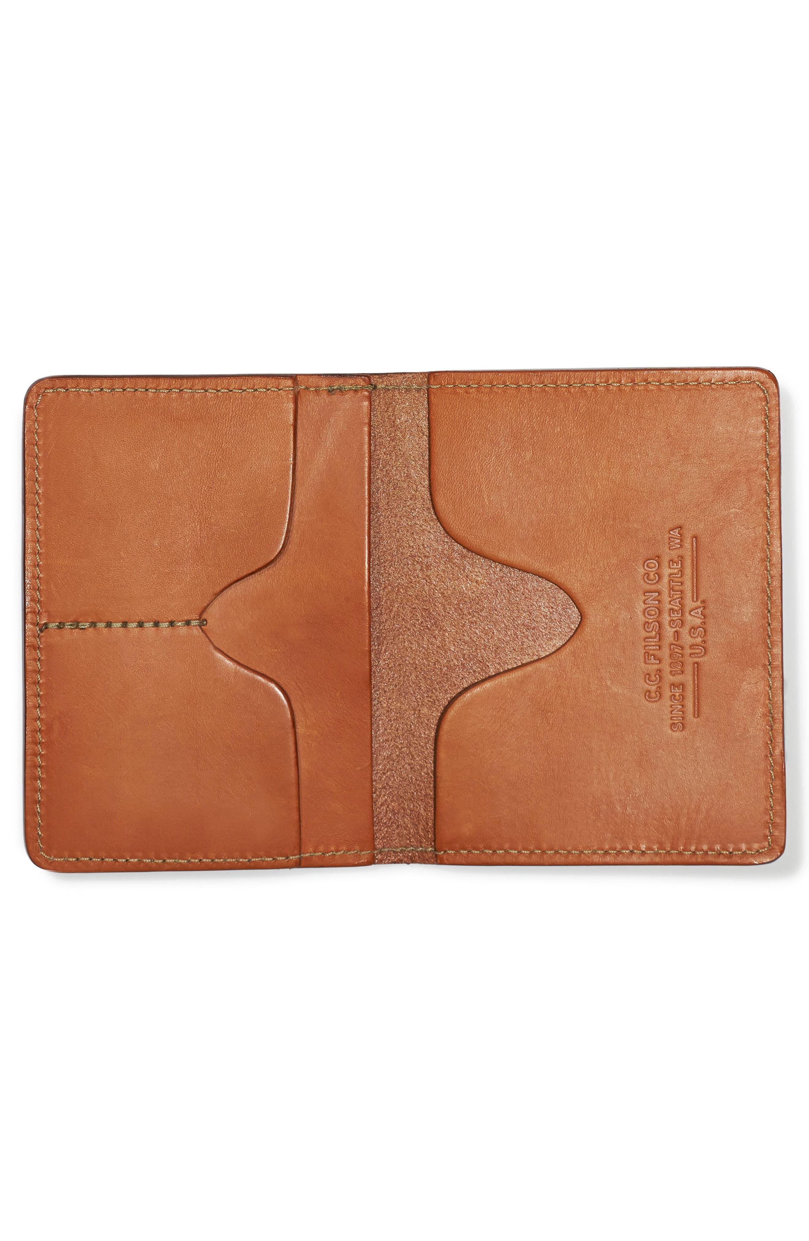 Alternate Image 2  - Filson Leather Passport Case