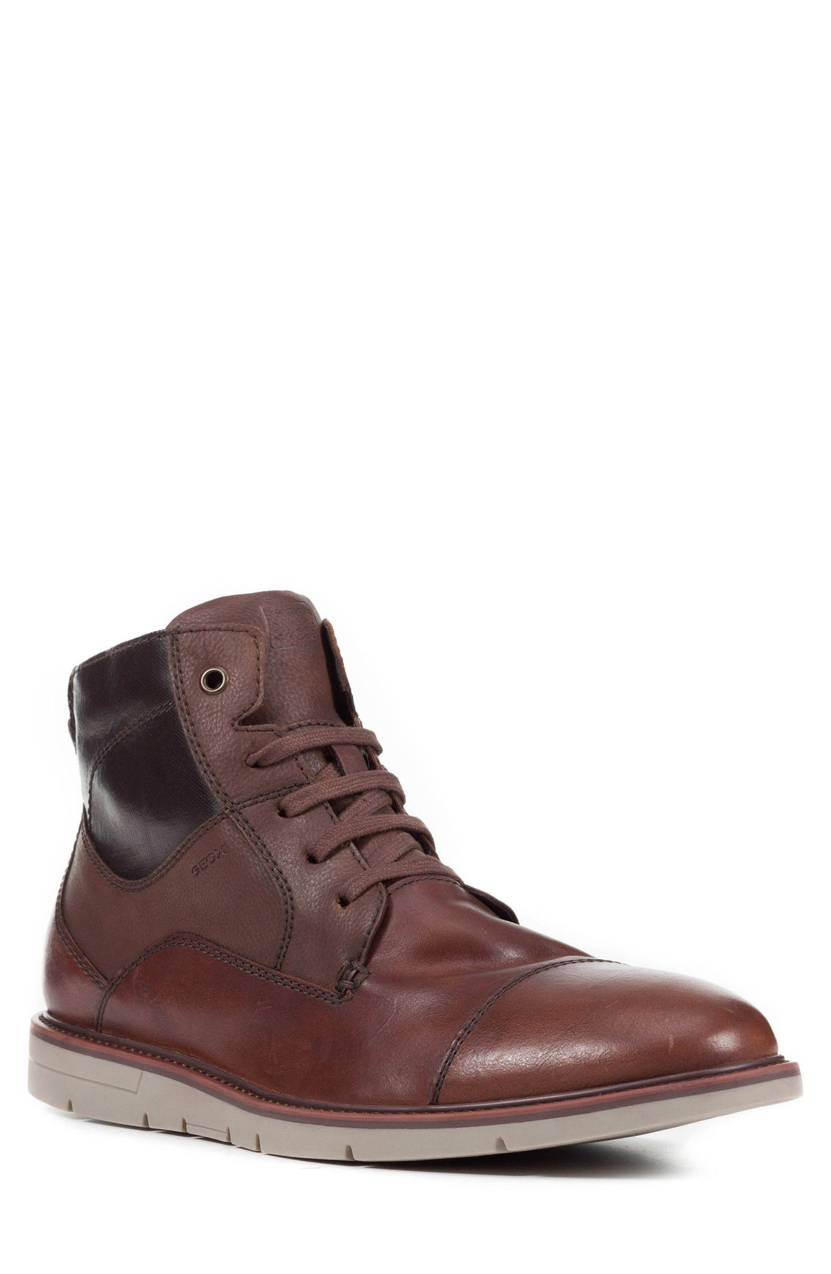 Alternate Image 1 Selected - Geox Muvet 5 Cap Toe Boot (men)