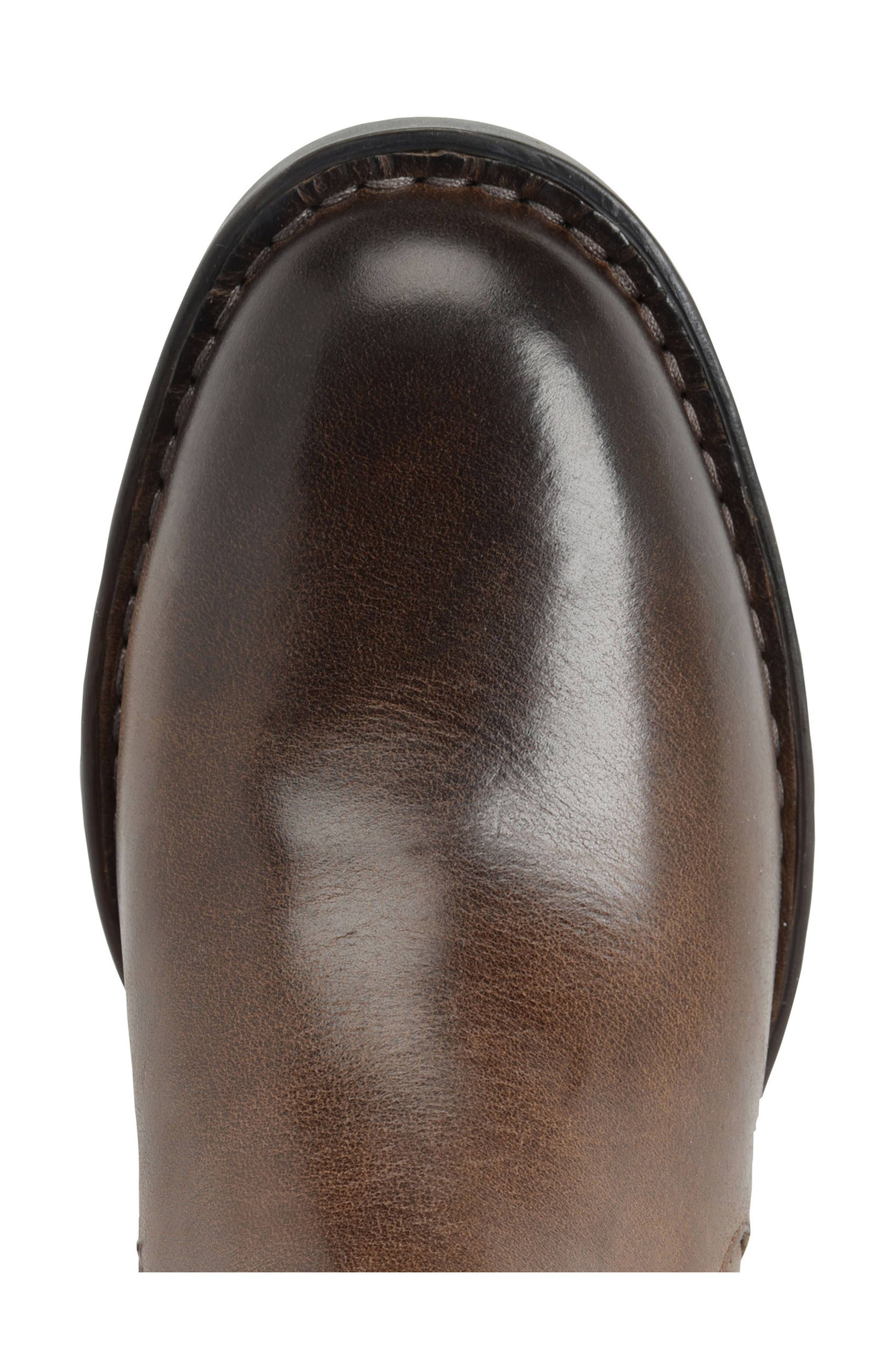 Timms Bootie,                             Alternate thumbnail 5, color,                             Brown Leather
