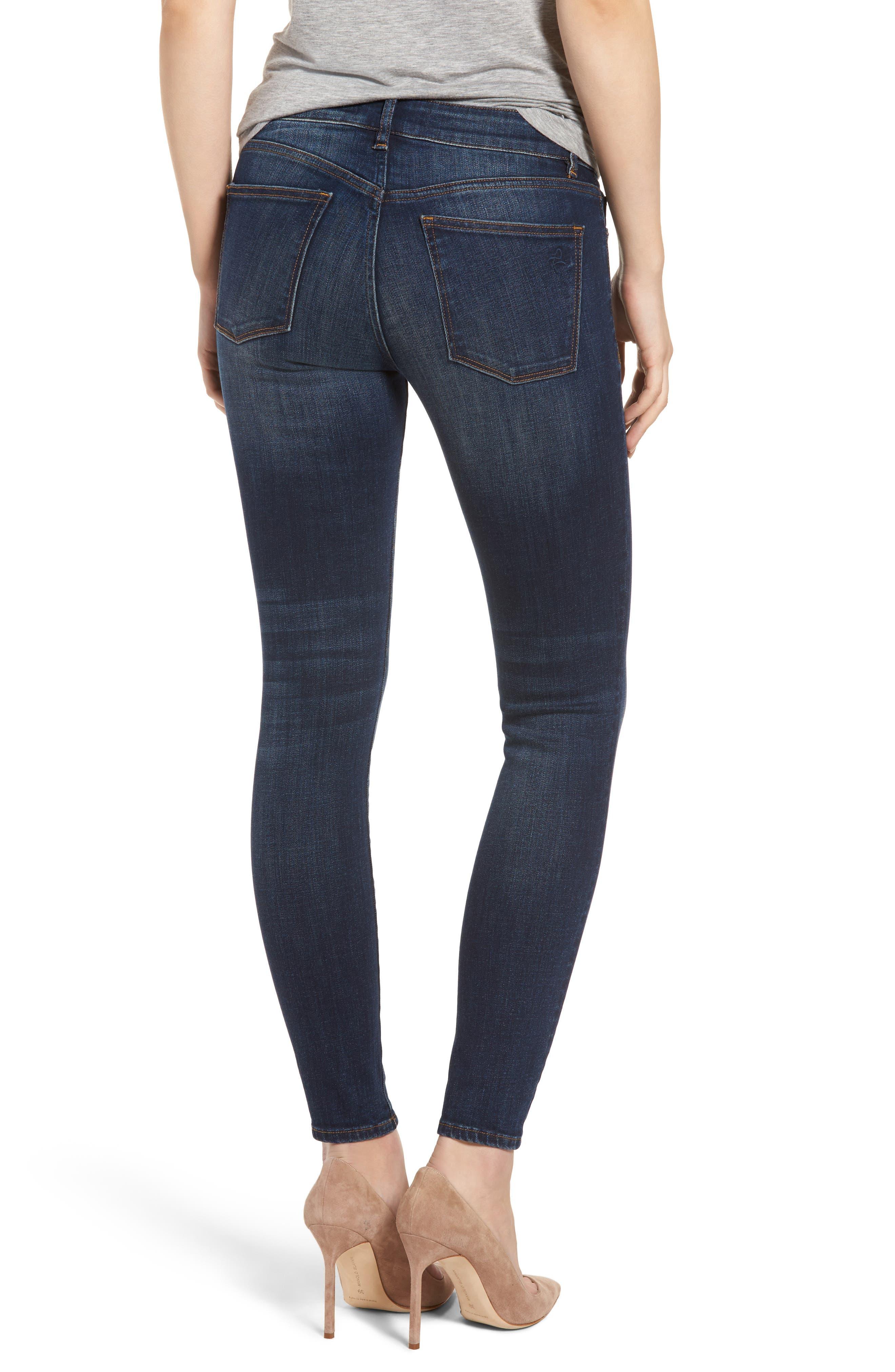 Emma Power Legging Skinny Jeans,                             Alternate thumbnail 2, color,                             Sulton