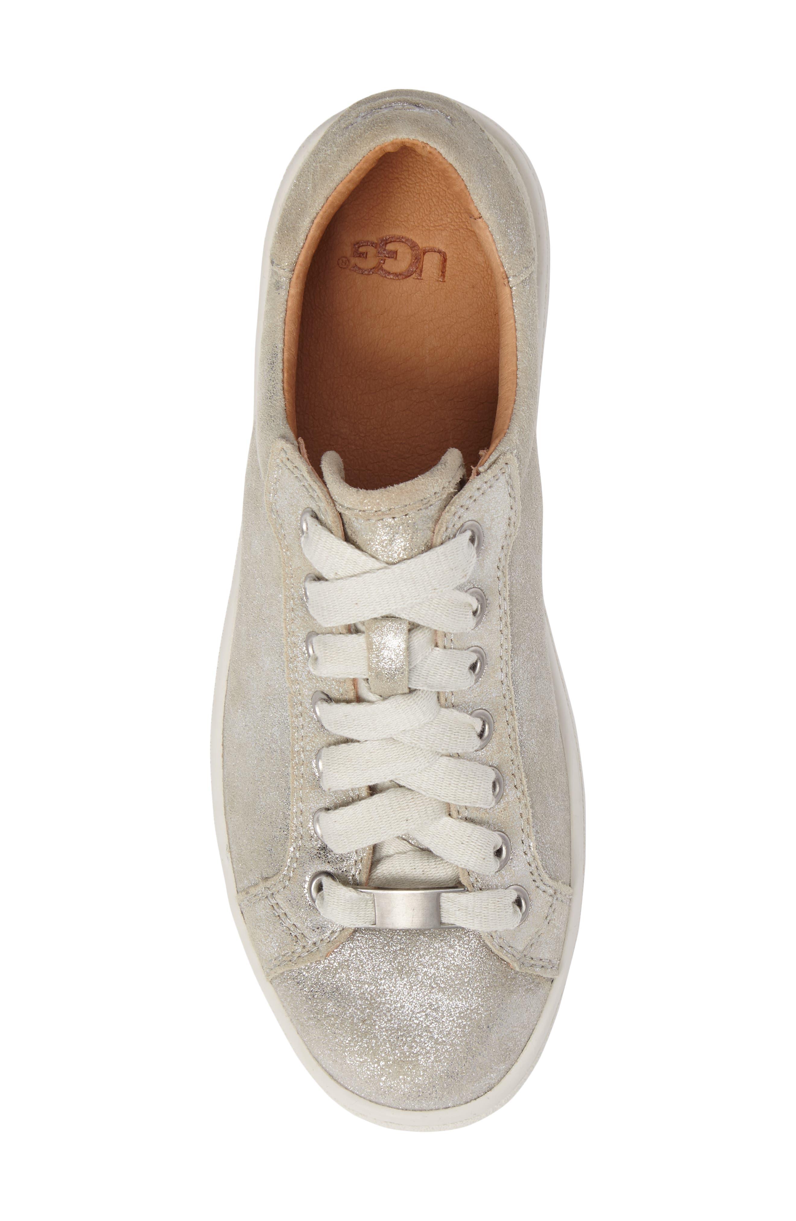 Alternate Image 5  - UGG® Milo Stardust Sneaker (Women)