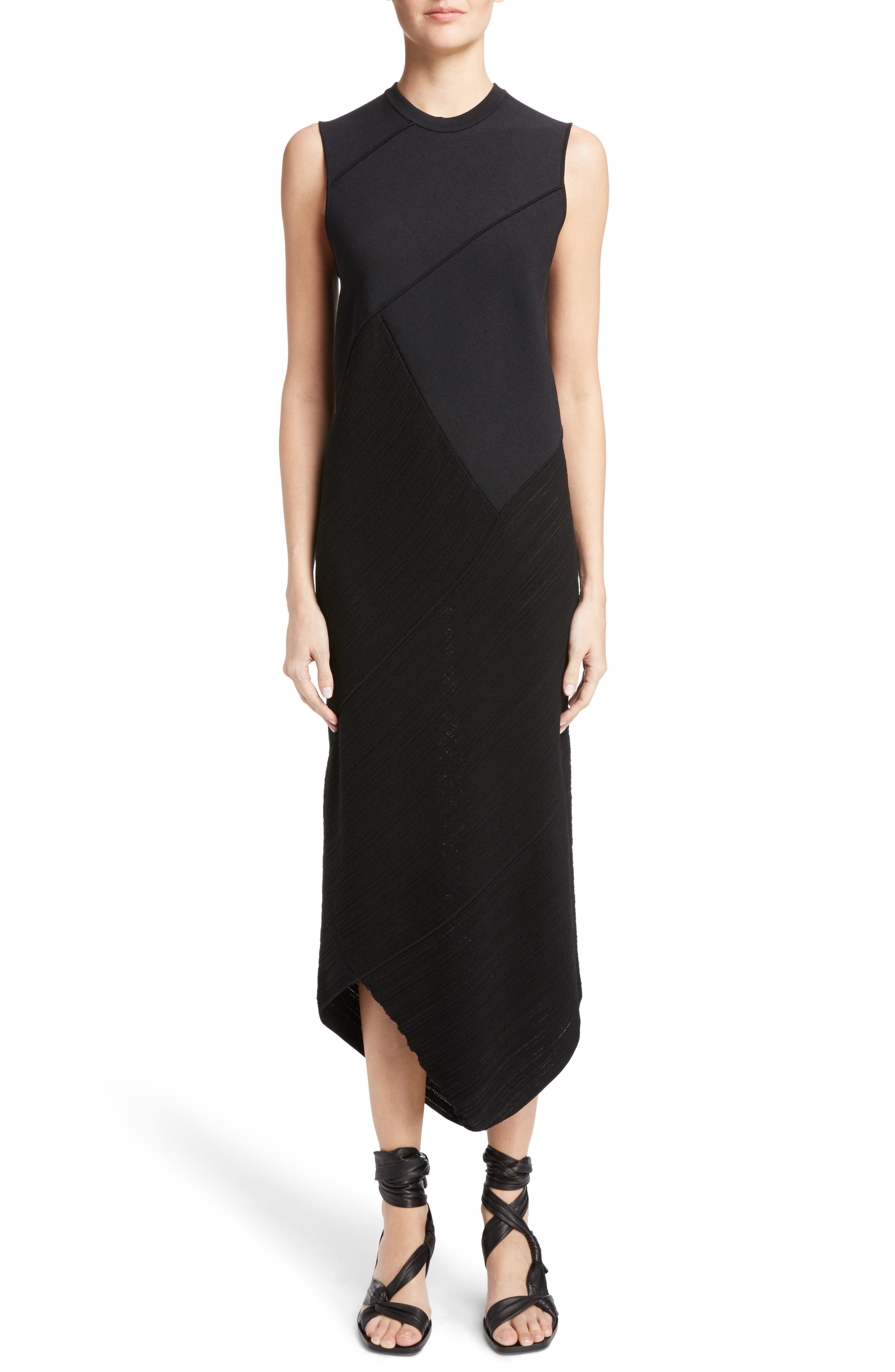 Main Image - Proenza Schouler Asymmetrical Spiral Knit Dress