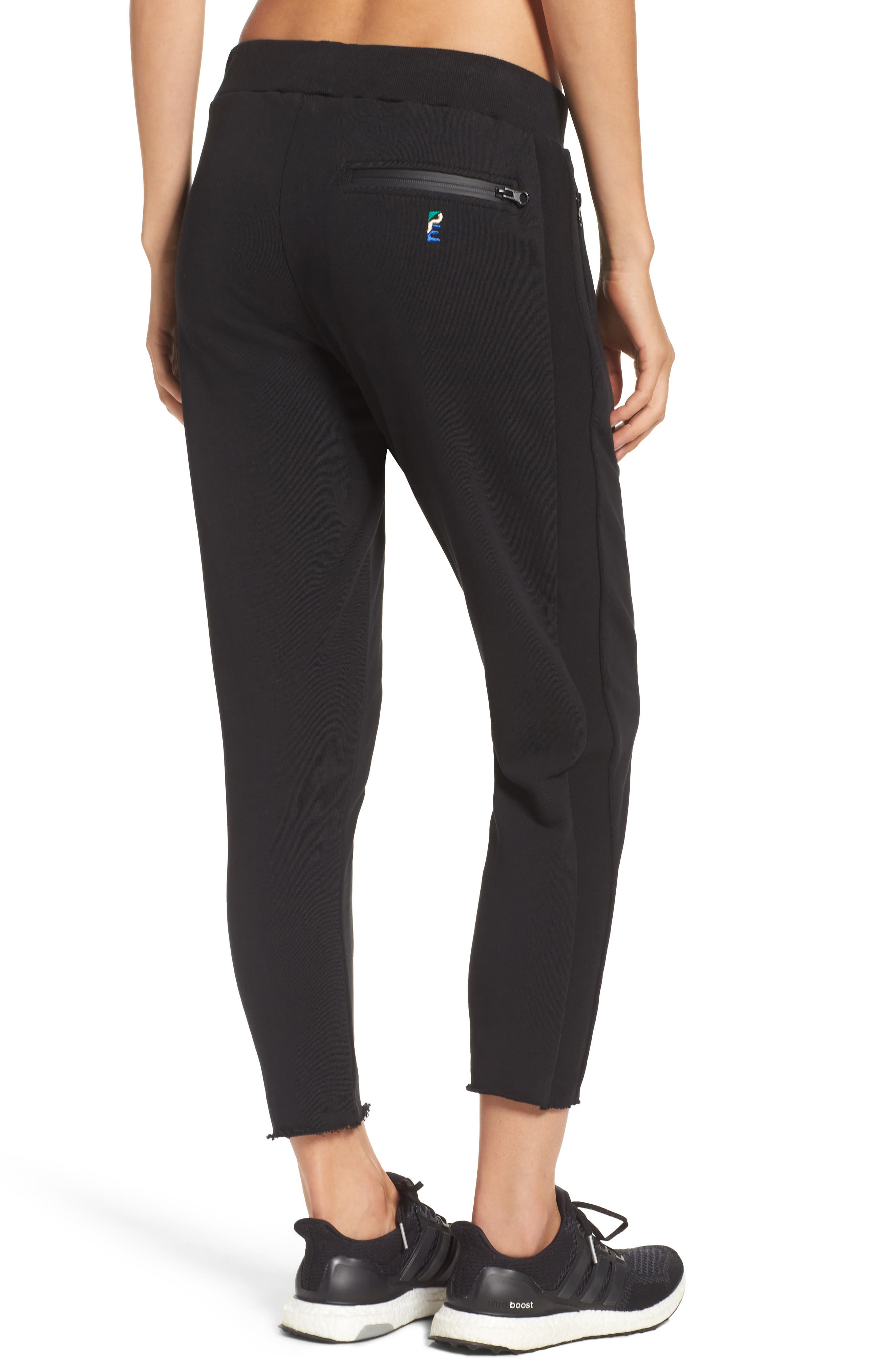 Deuce Track Pants,                             Alternate thumbnail 2, color,                             Black