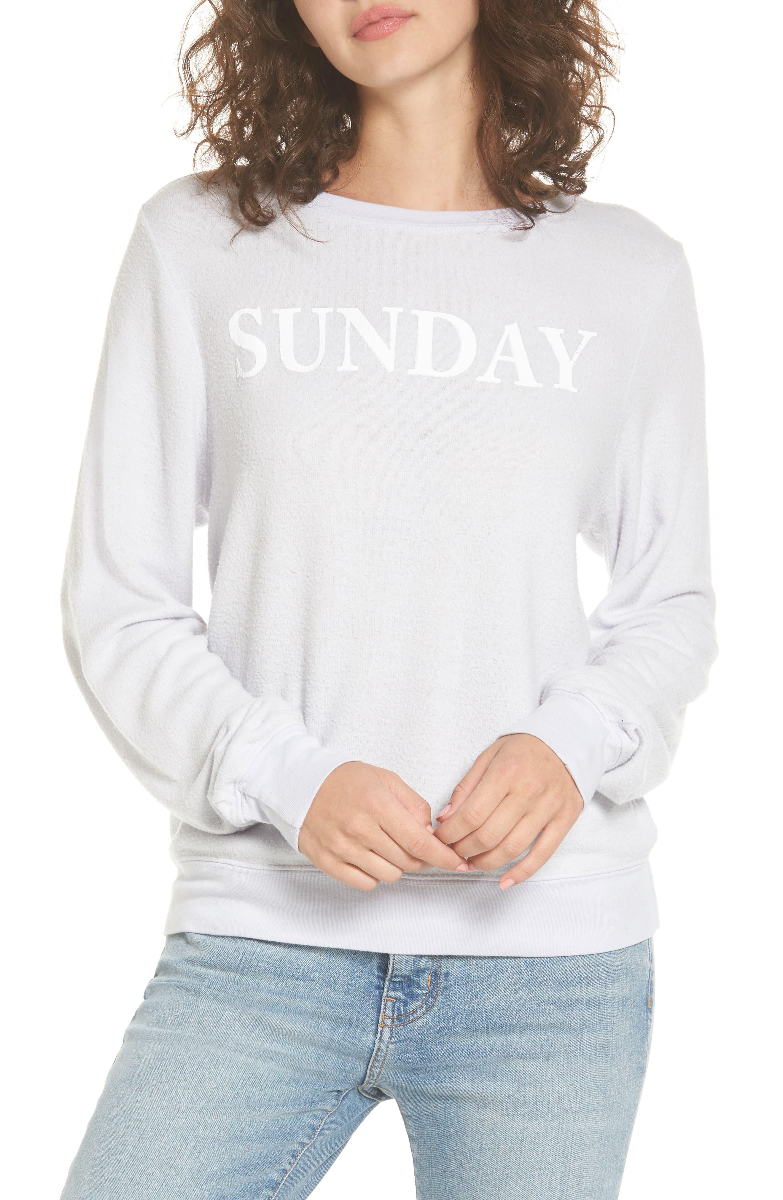 Alternate Image 1 Selected - Dream Scene Sunday Sweatshirt