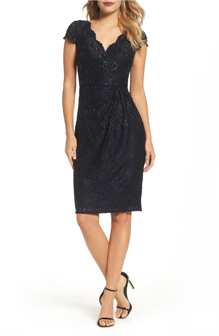 Nordstrom: Adrianna Papell Sequin Lace Sheath Dress