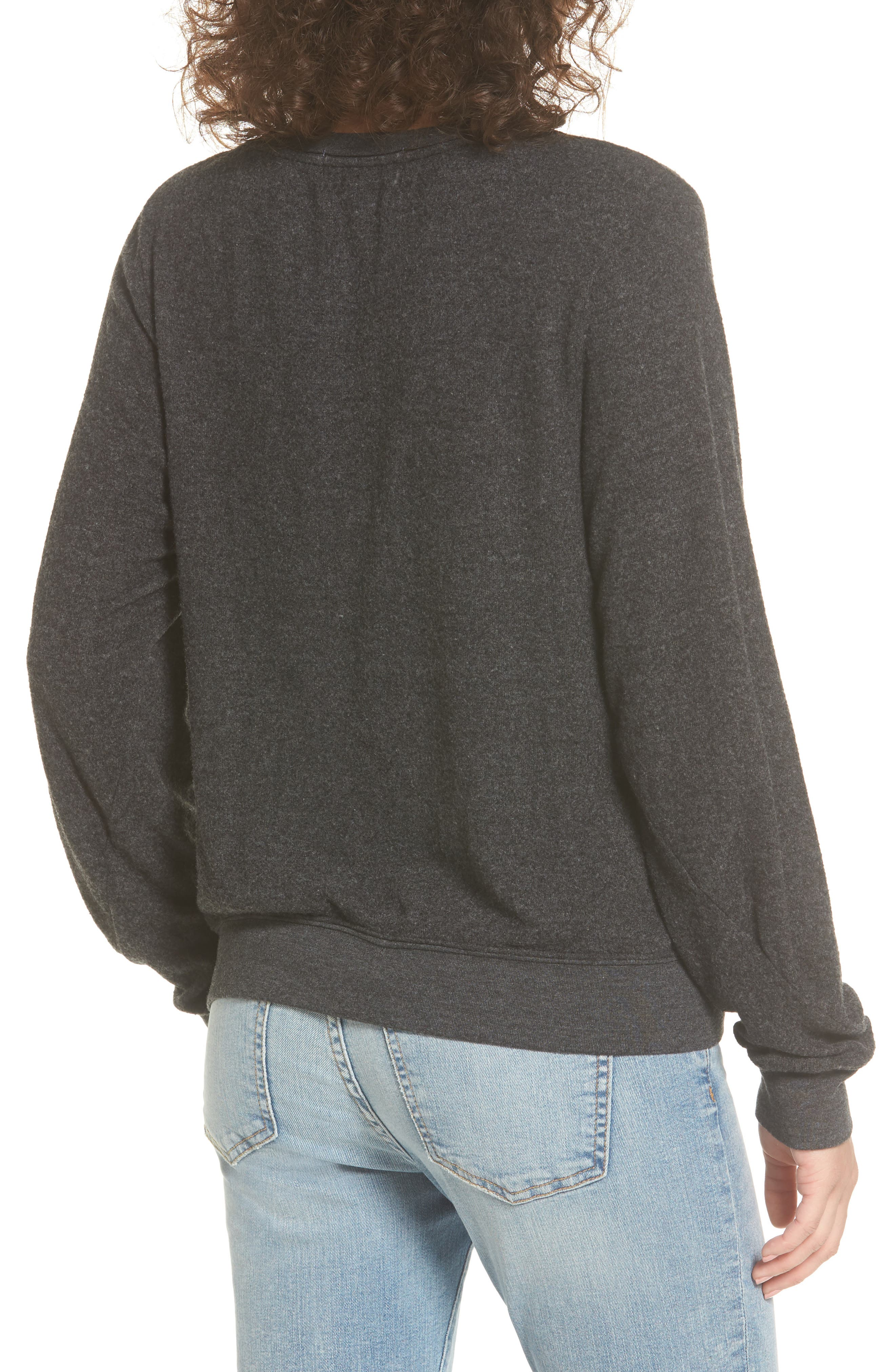 Weekend Pullover,                             Alternate thumbnail 2, color,                             Black