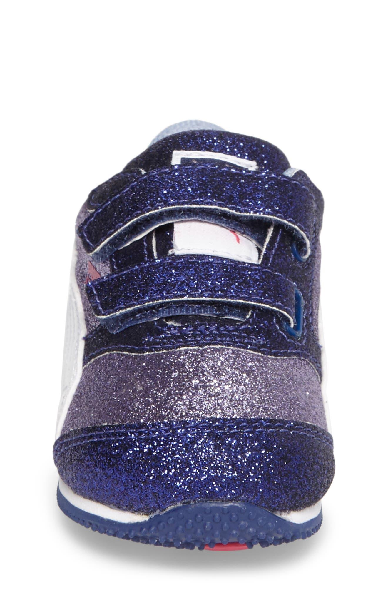 Steeple Glitz Glam Sneaker,                             Alternate thumbnail 5, color,                             Lavender
