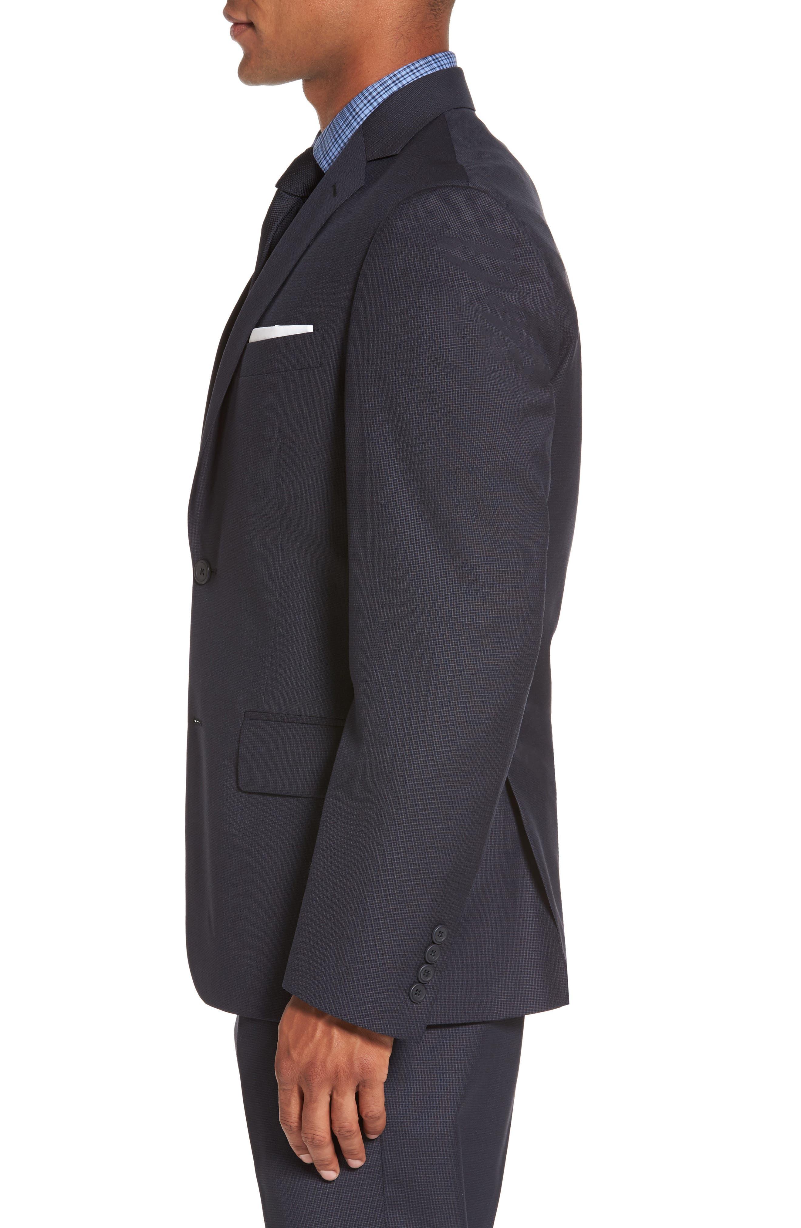 Alternate Image 3  - Nordstrom Men's Shop Classic Fit Solid Wool Sport Coat