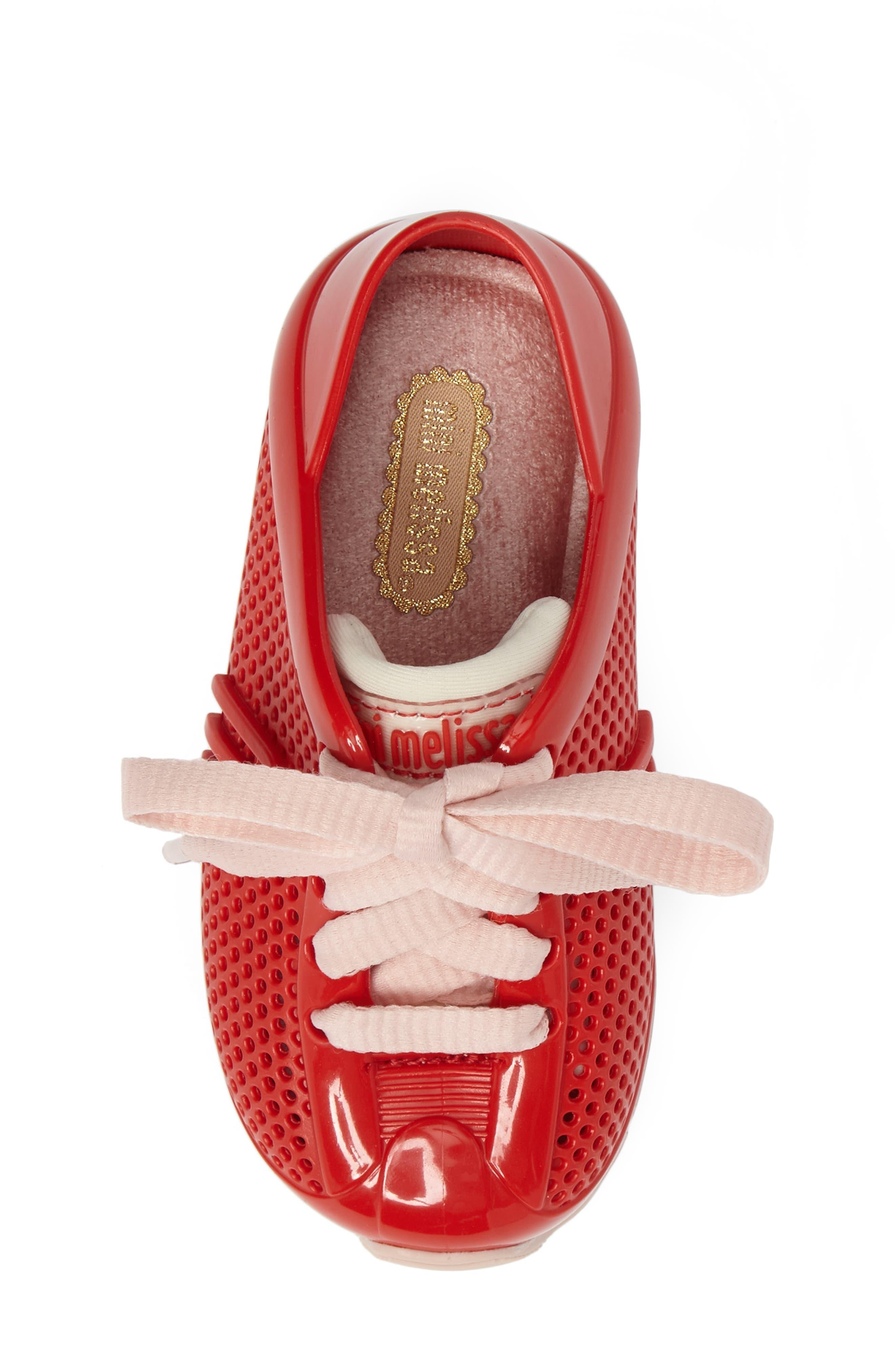'Love System' Sneaker,                             Alternate thumbnail 5, color,                             Red