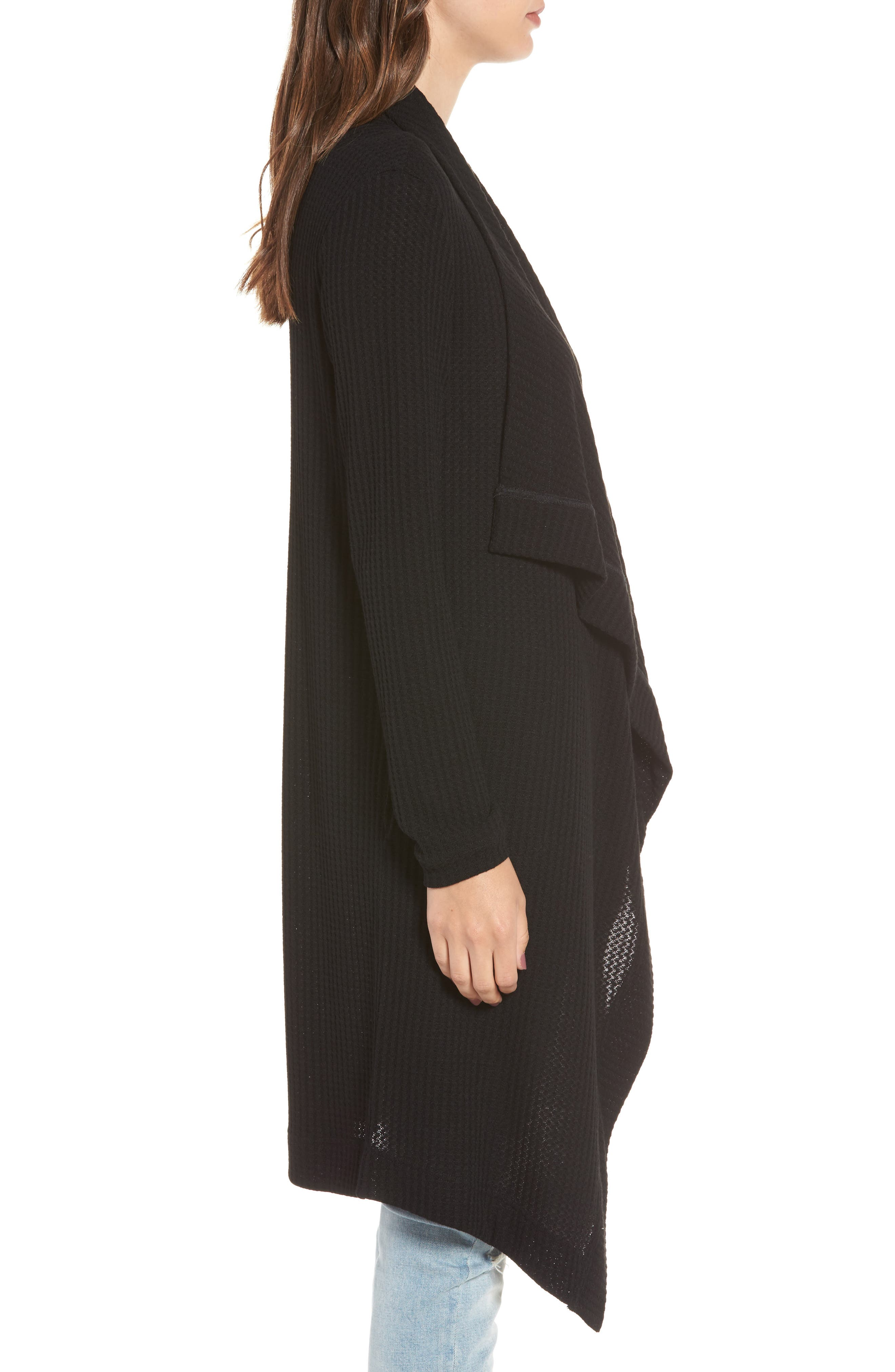 Alternate Image 3  - 4SI3NNA Open Front Cardigan