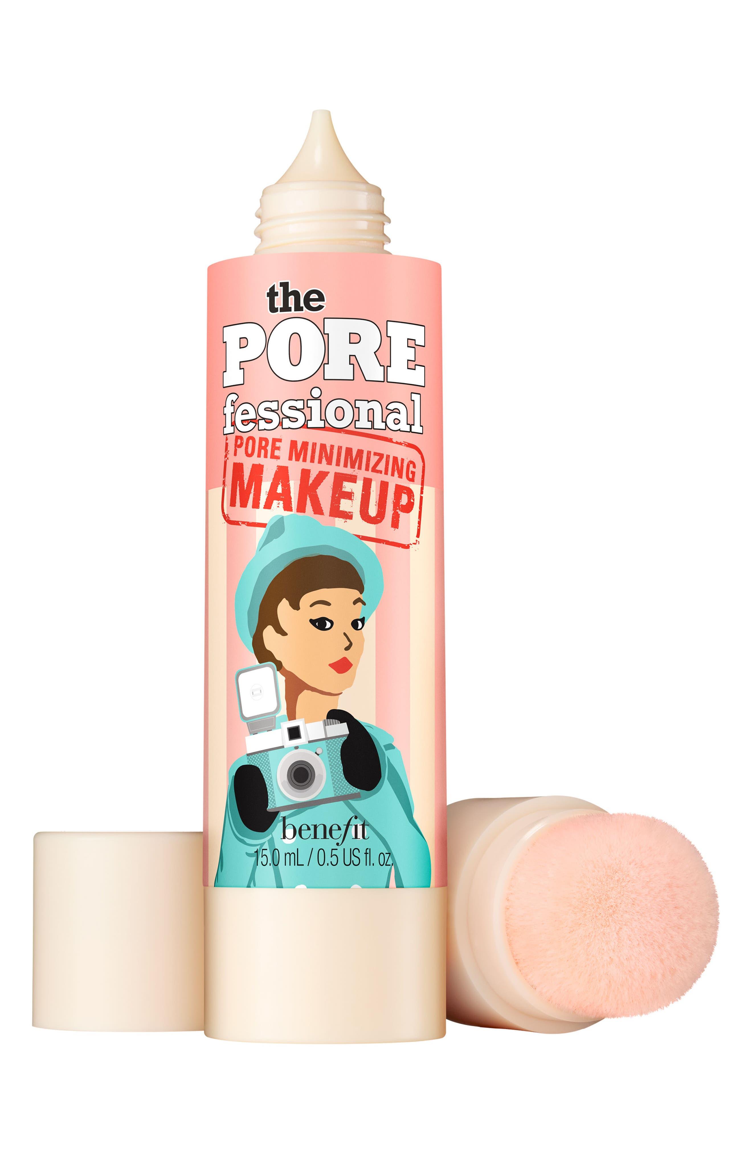 Benefit The POREfessional Pore Minimizing Makeup,                             Main thumbnail 1, color,                             03 Light Medium