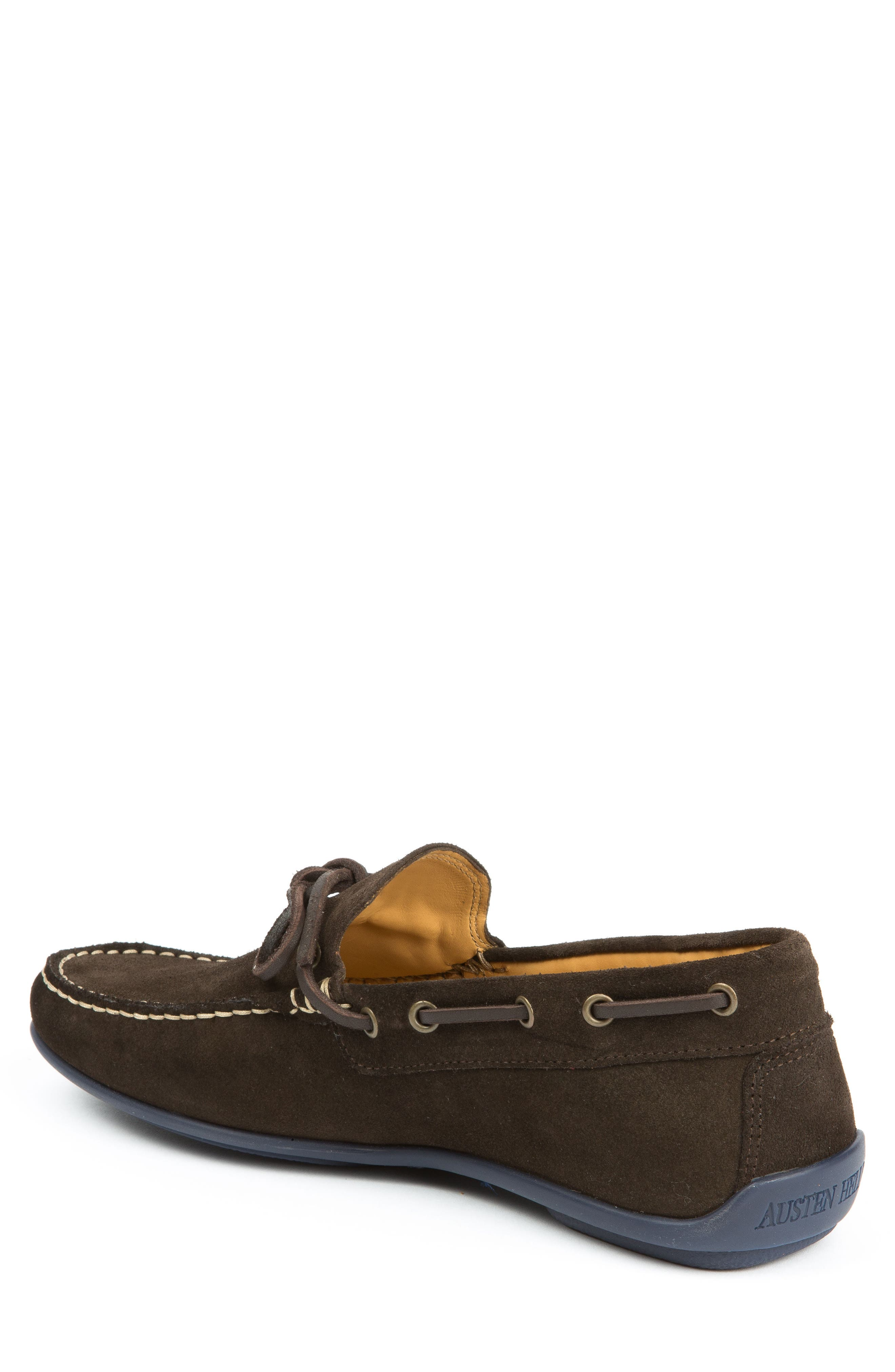 Kingstons Driving Shoe,                             Alternate thumbnail 2, color,                             Brown Suede