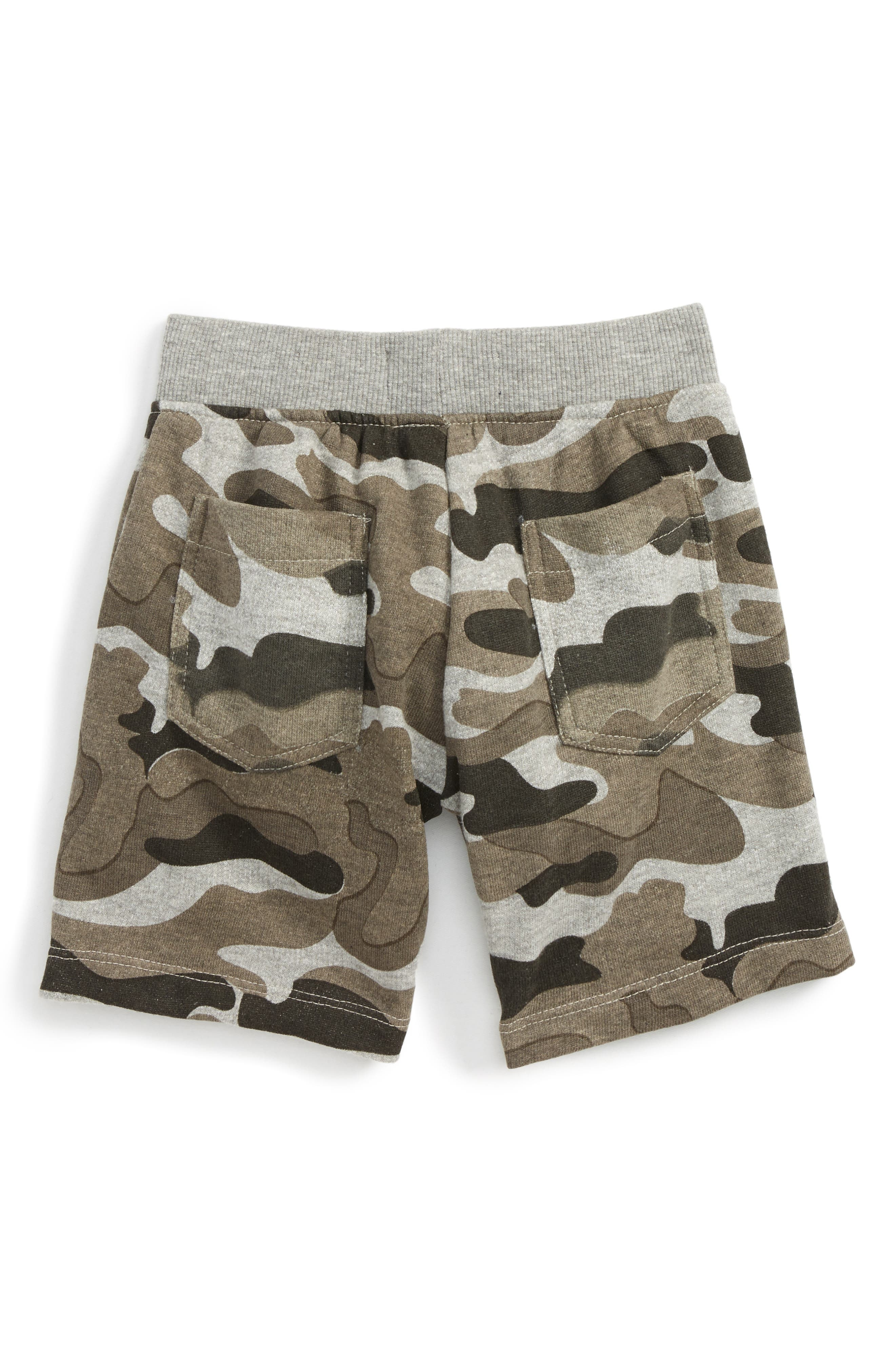 Stephen Camo Shorts,                             Alternate thumbnail 2, color,                             Grey Camo
