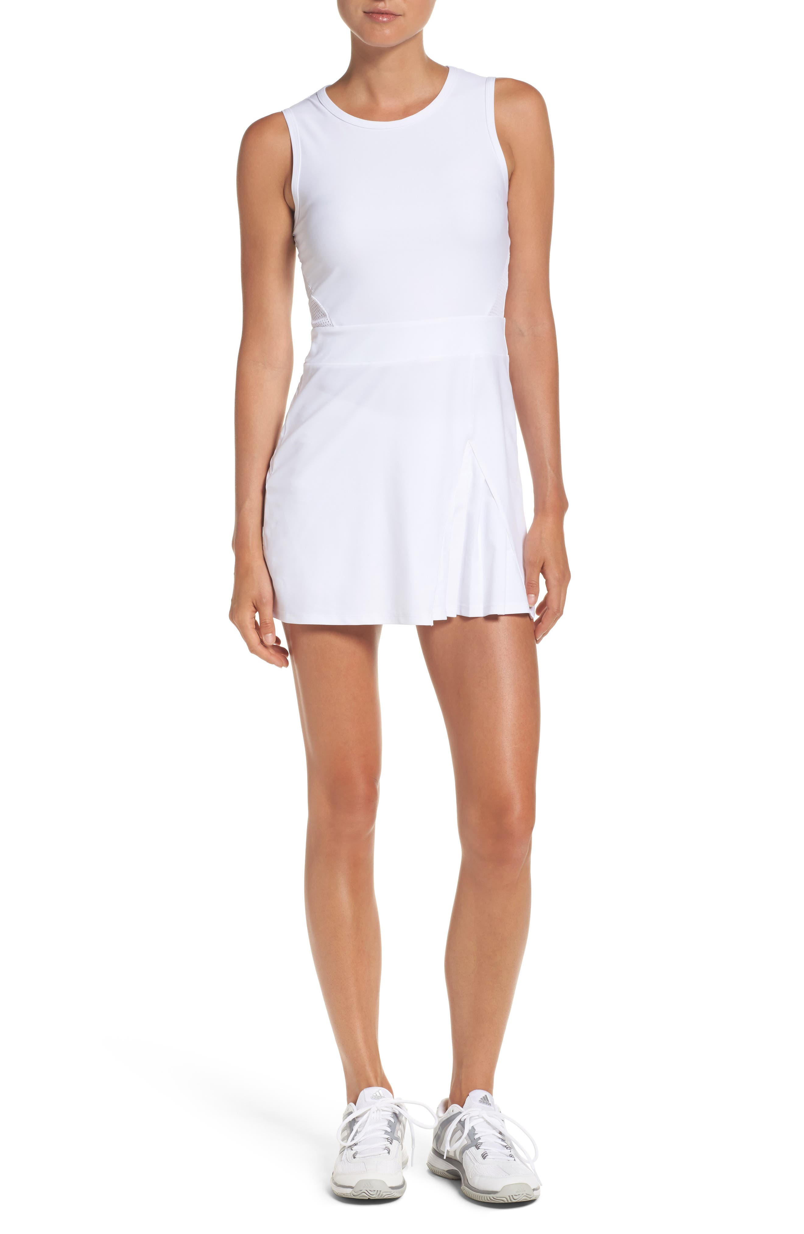 BoomBoom Athletica Tennis Dress & Shorts,                         Main,                         color, White