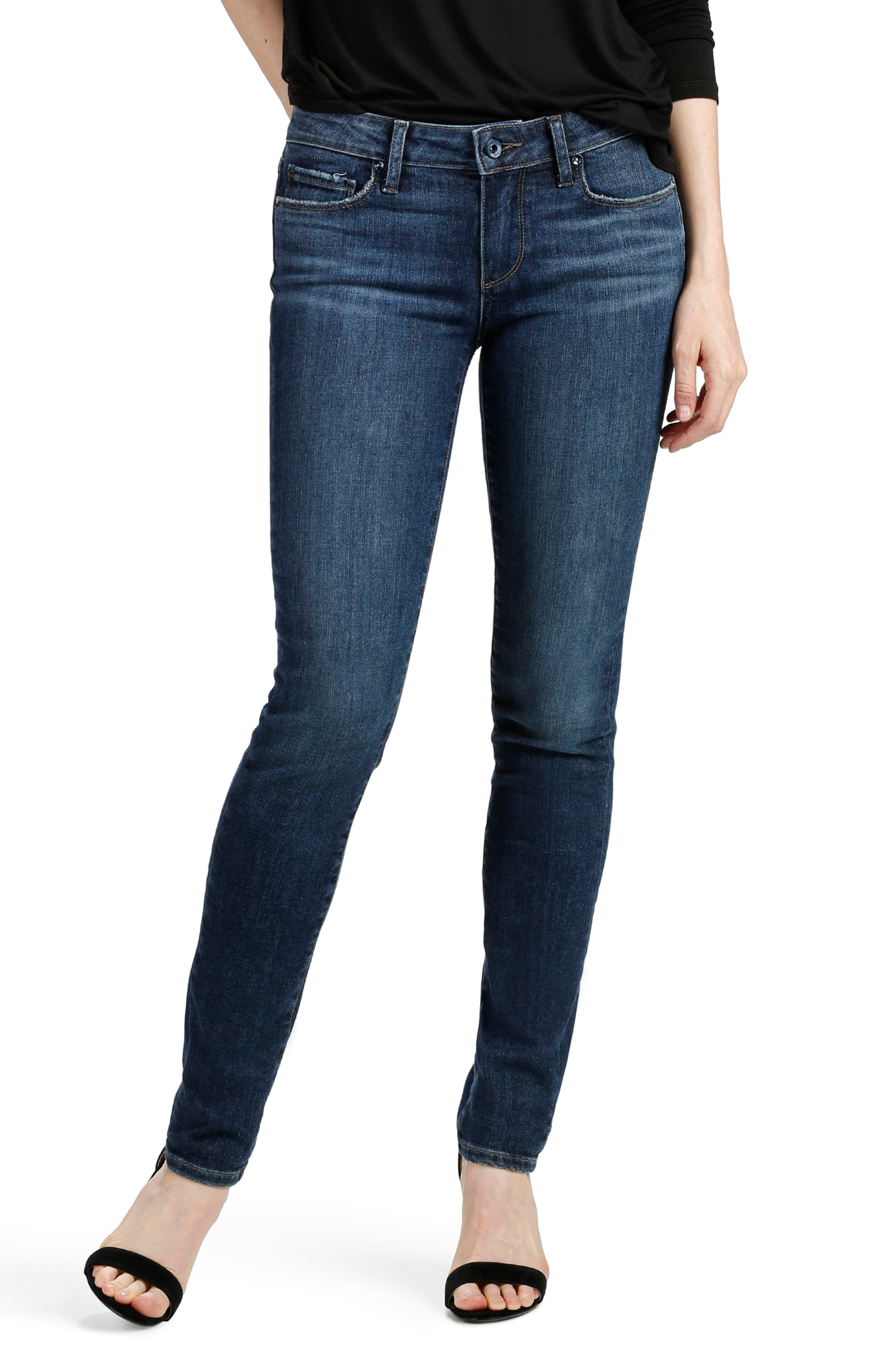 Alternate Image 1 Selected - PAIGE Transcend - Skyline Skinny Jeans (Percy)