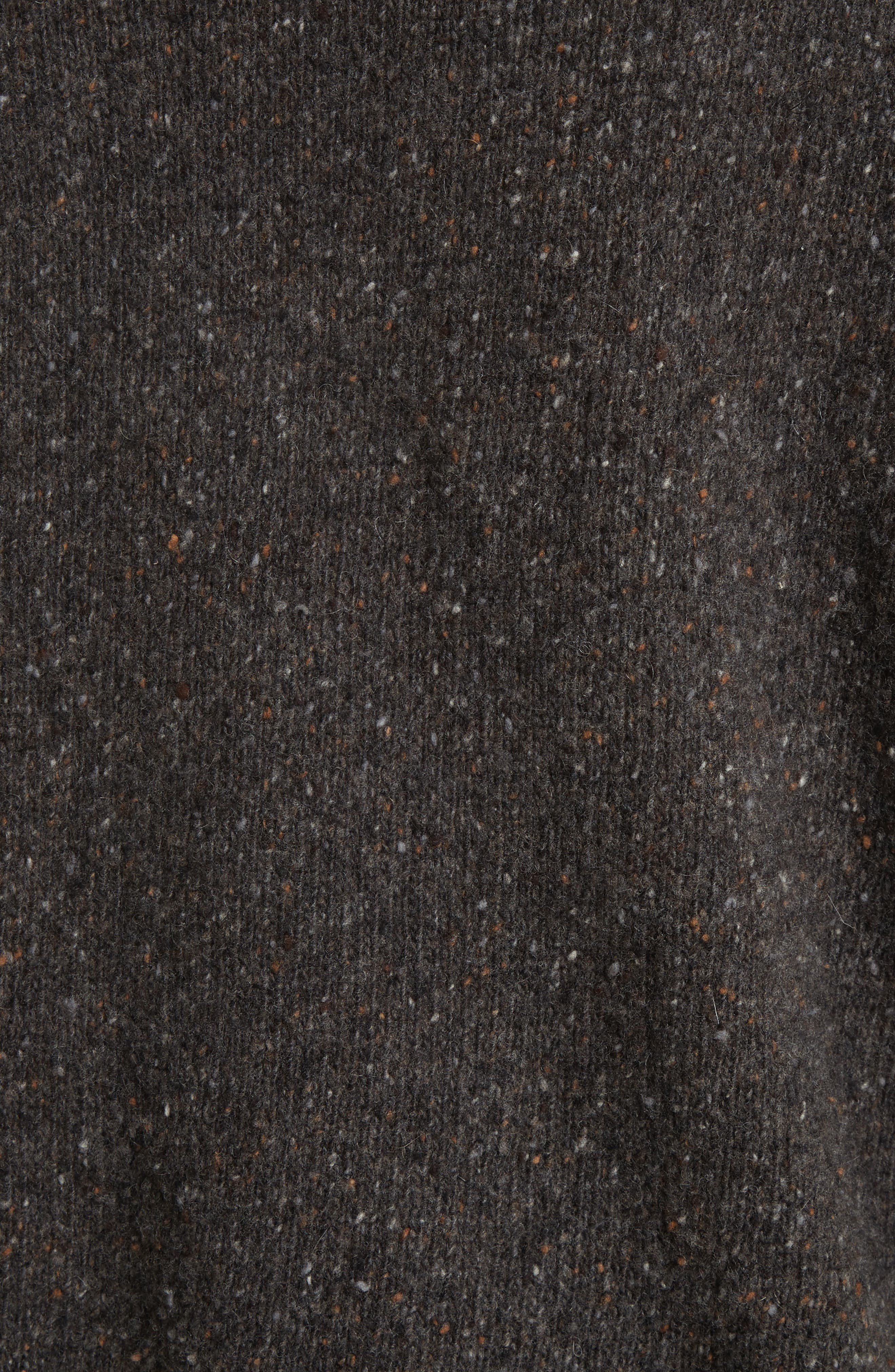 Cashmere Turtleneck Sweater,                             Alternate thumbnail 5, color,                             Charcoal
