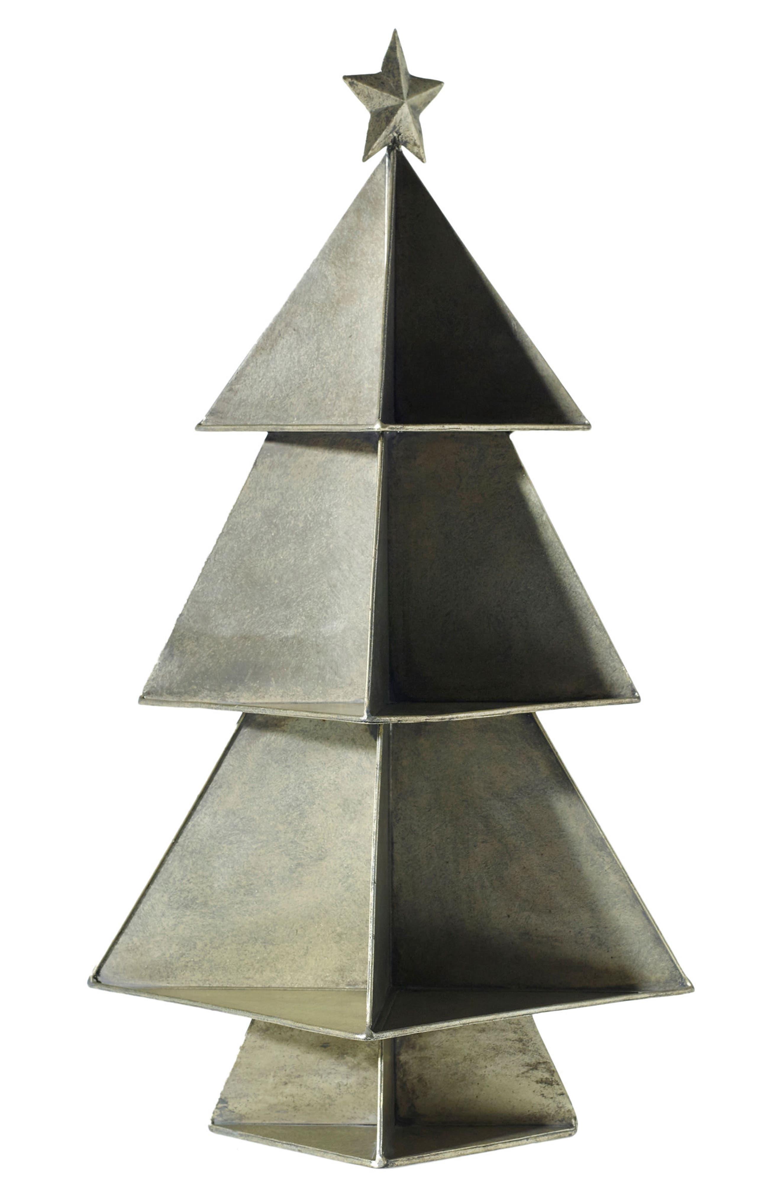 Tin Tree,                             Main thumbnail 1, color,                             Gold