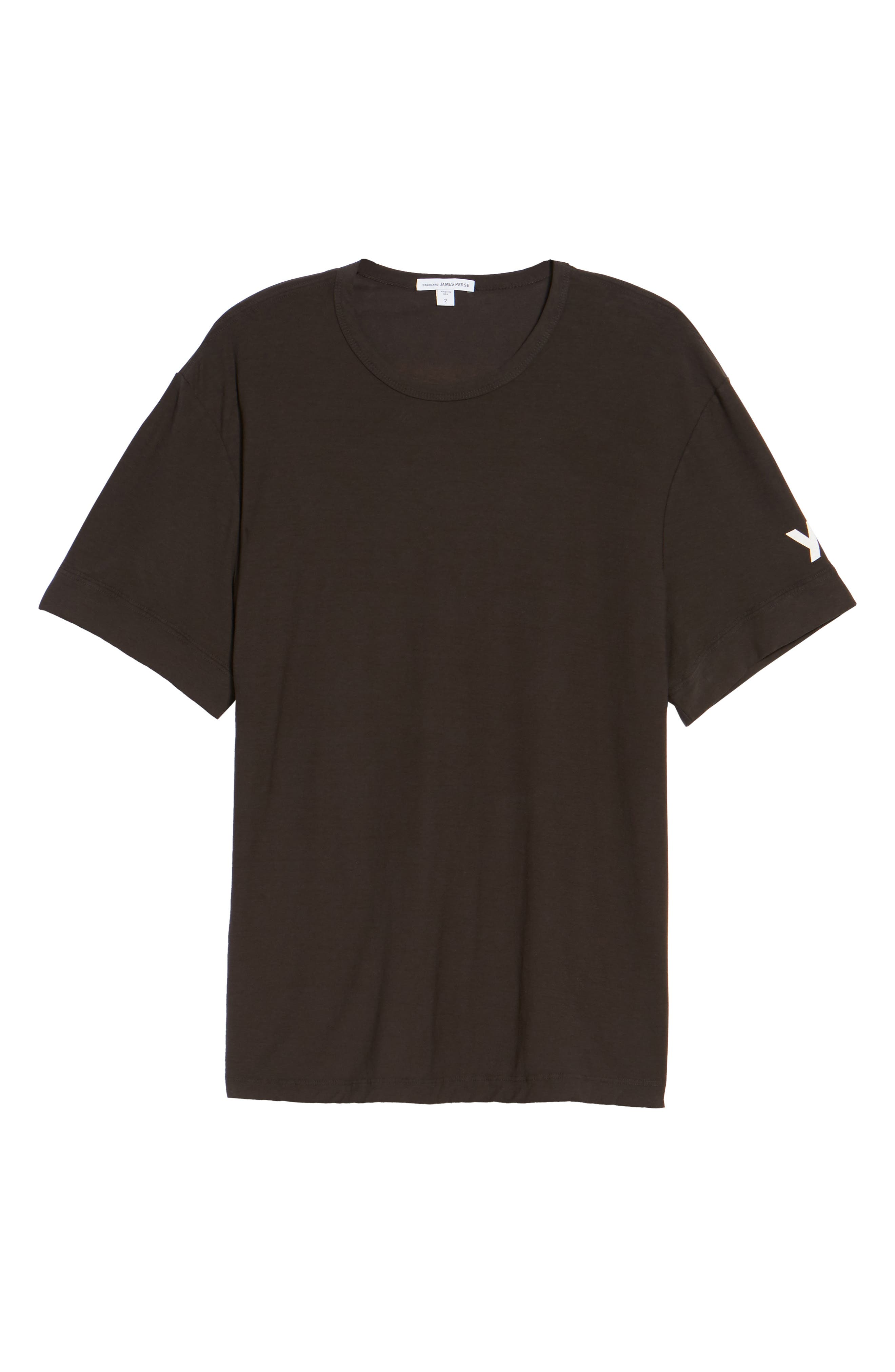 Reverse Tree Graphic T-Shirt,                             Alternate thumbnail 5, color,                             Carbon