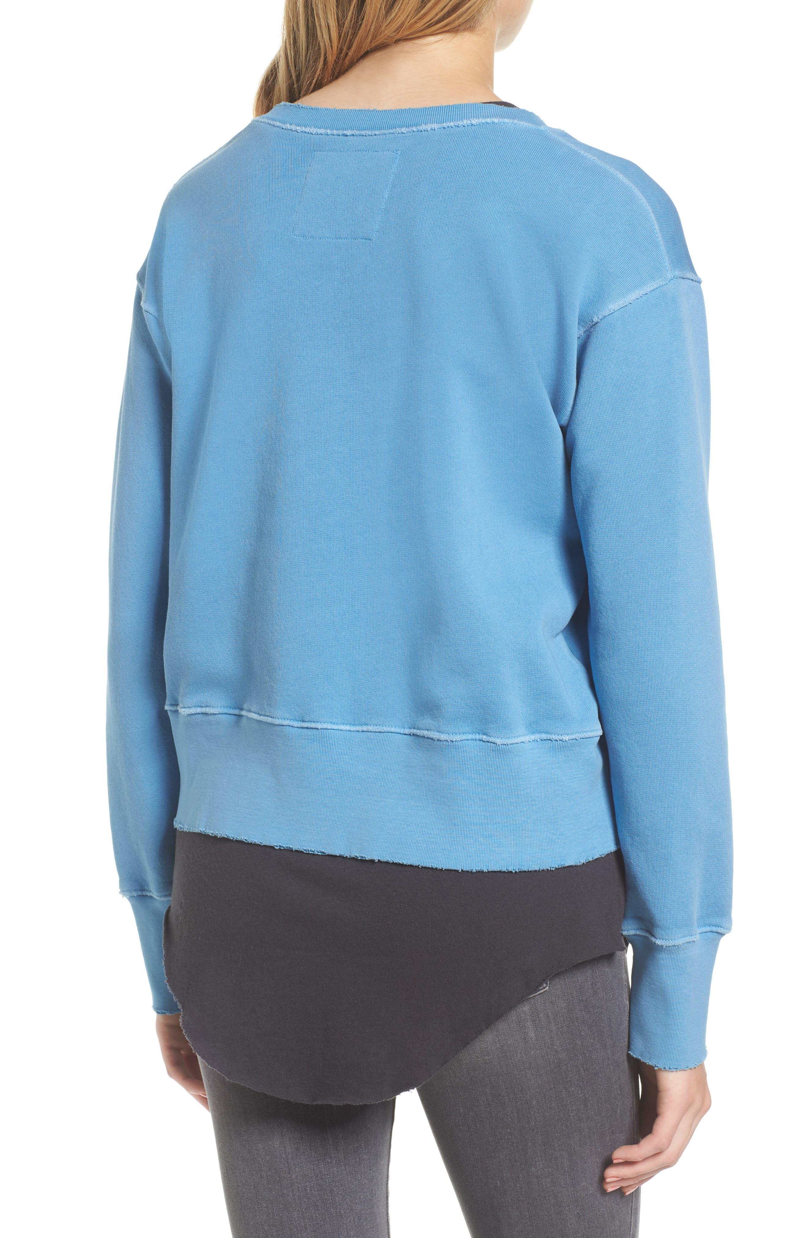 Sweatshirt,                             Alternate thumbnail 2, color,                             Deep End