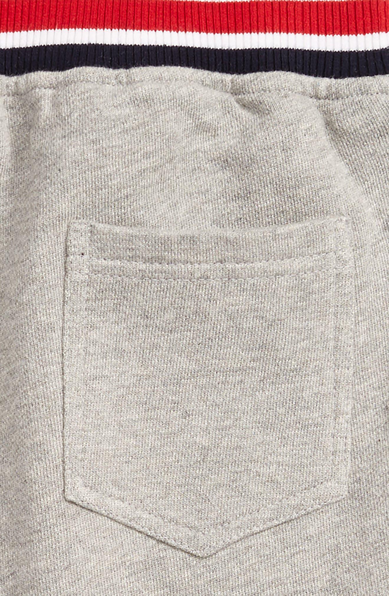 Alternate Image 3  - Peek Varsity Knit Shorts (Toddler Boys, Little Boys & Big Boys)