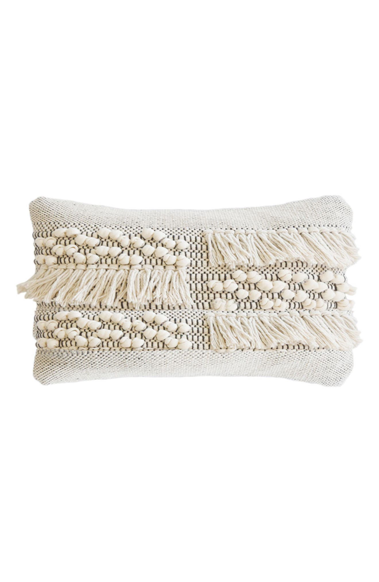 Zahra Accent Pillow,                         Main,                         color, Ivory