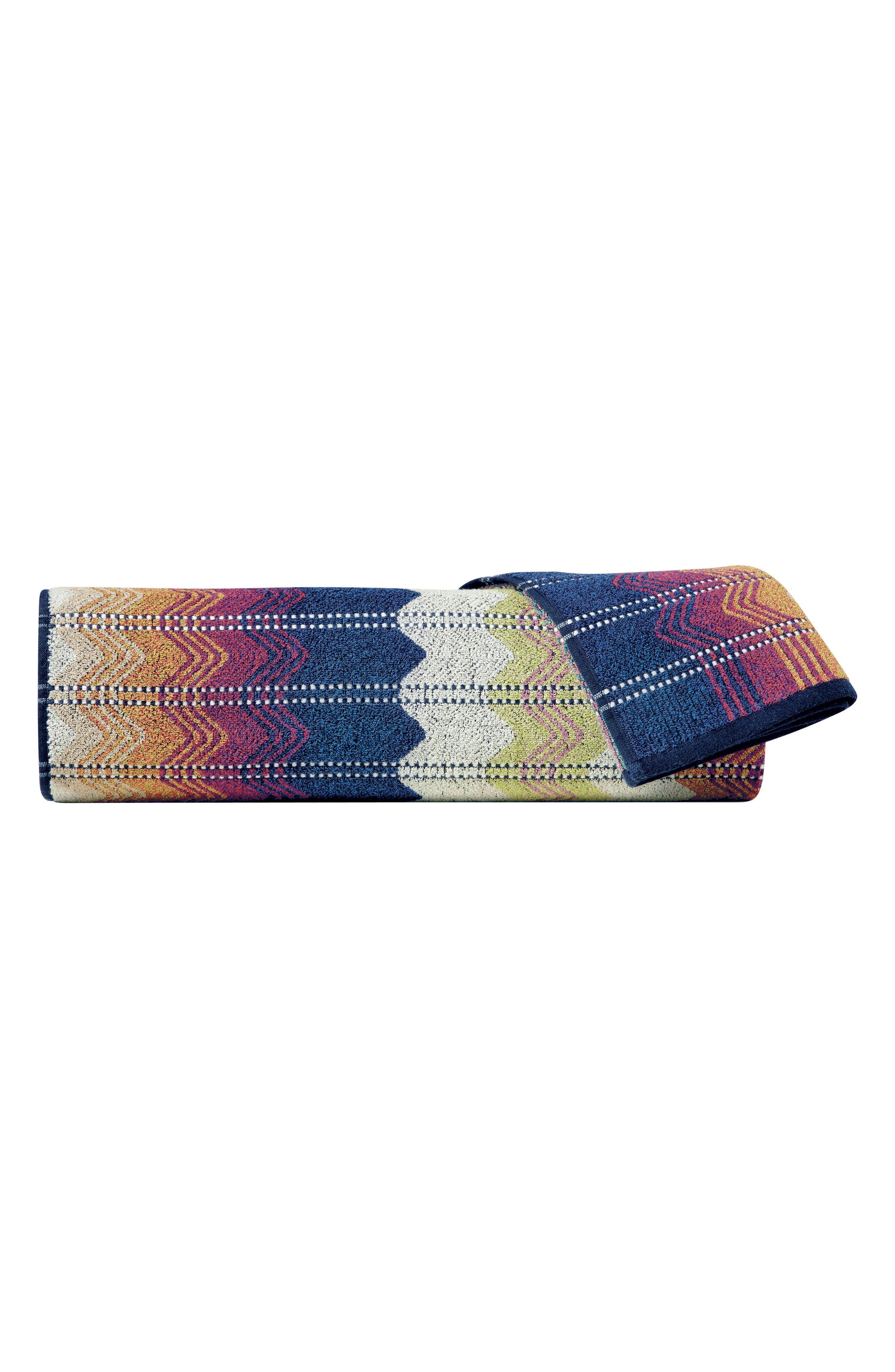 Missoni Travis Bath Sheet,                         Main,                         color, Multi Color