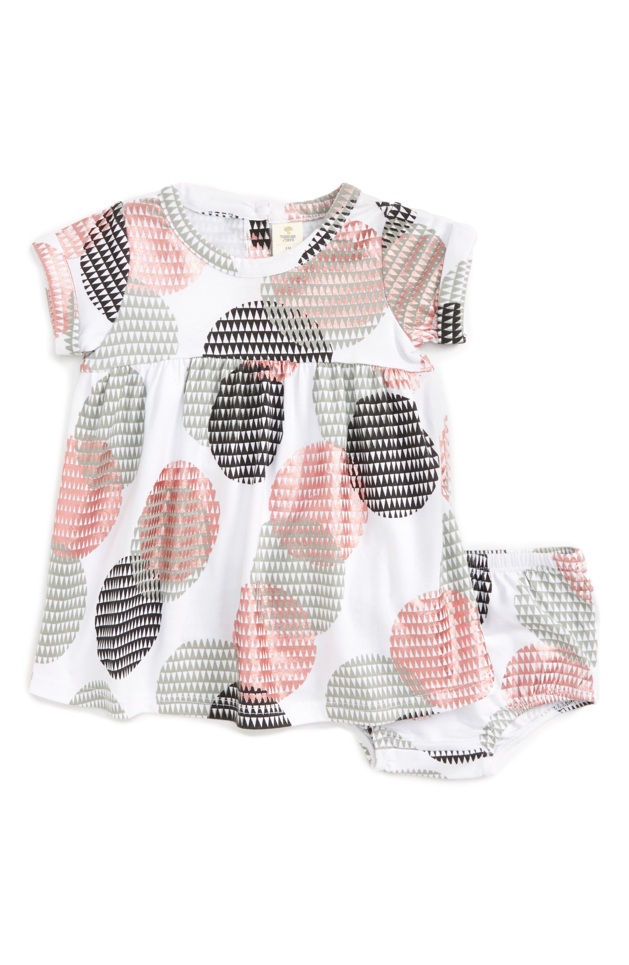 Tucker + Tate Print Dress (Baby Girls)