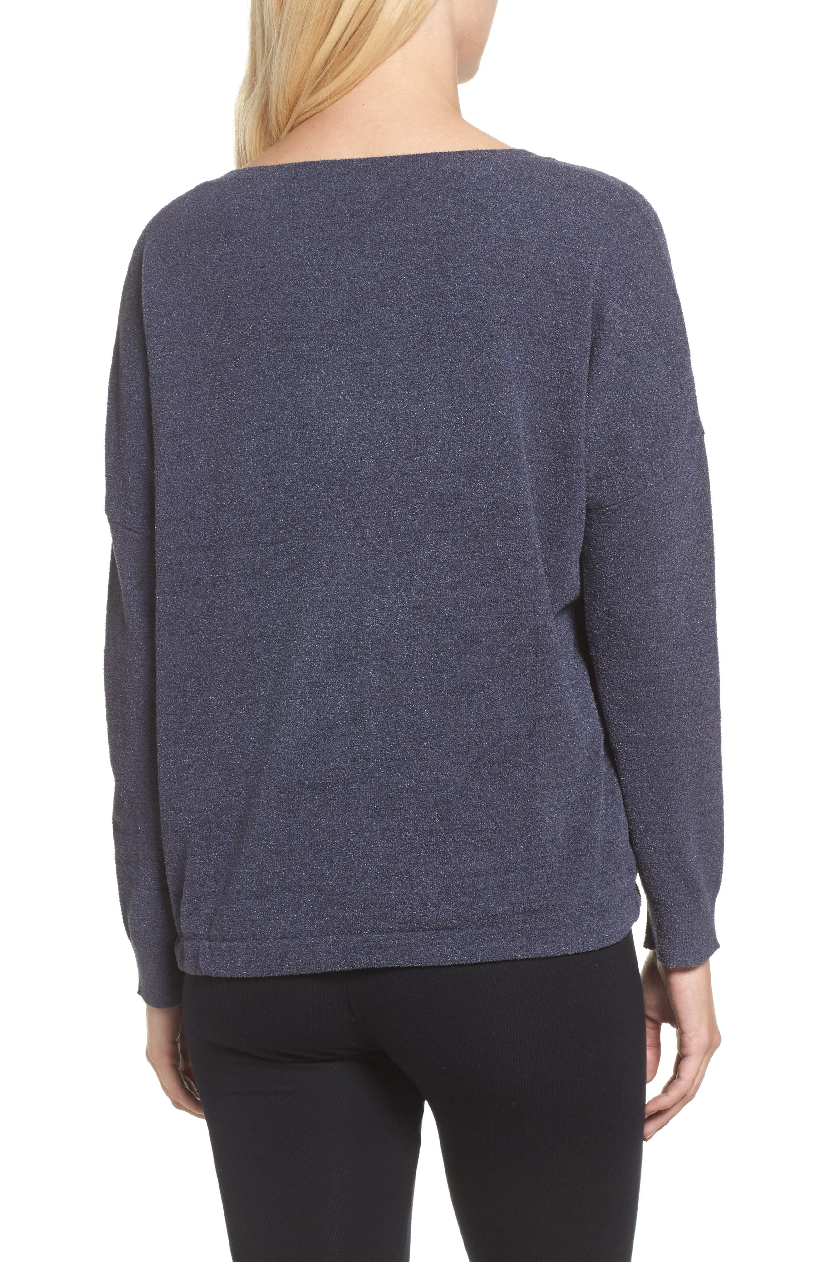 Cozychic Ultra Lite<sup>®</sup> Lounge Pullover,                             Alternate thumbnail 2, color,                             Pacific Blue