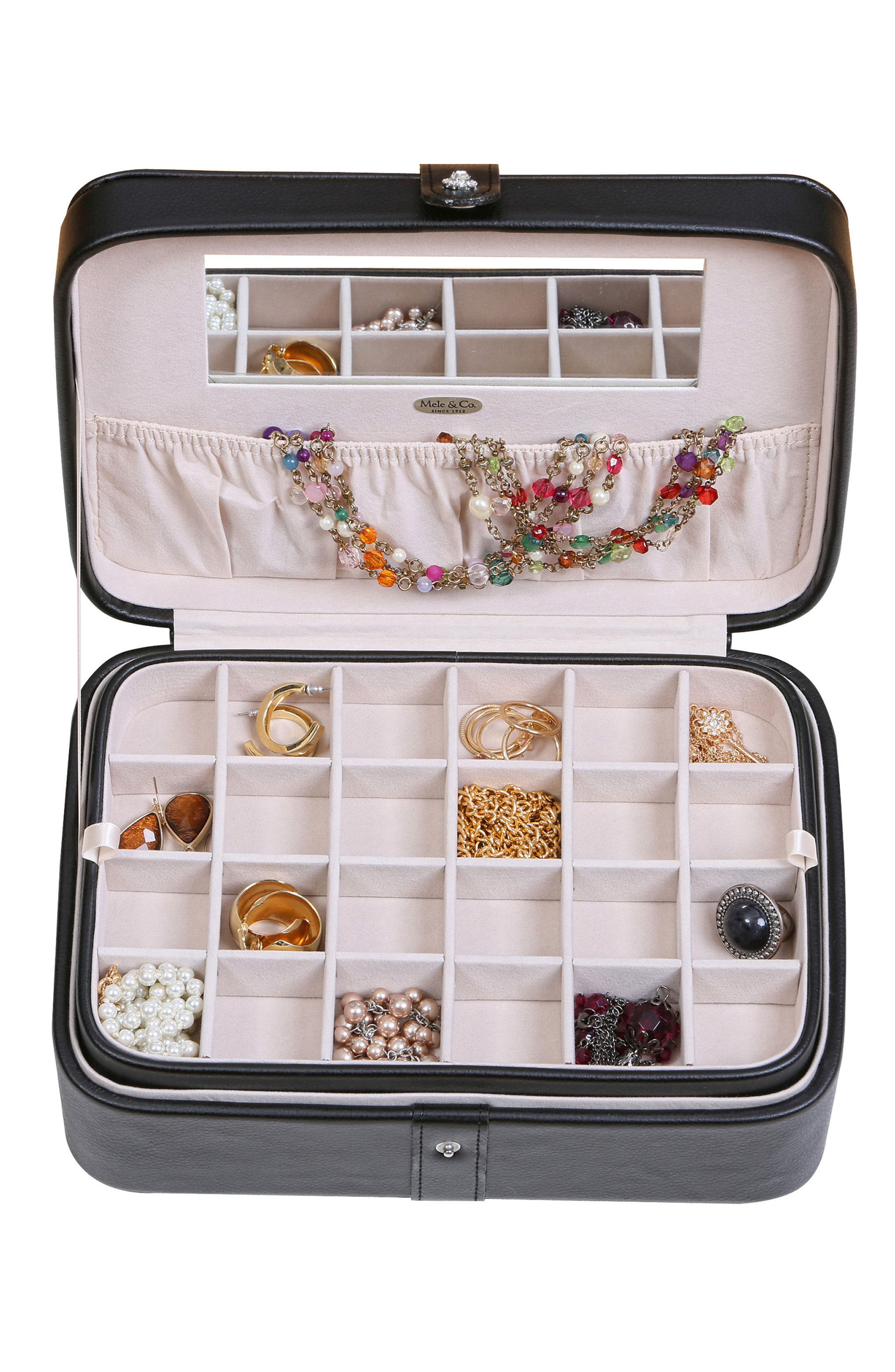 Alternate Image 2  - Mele & Co. Lila Jewelry Box
