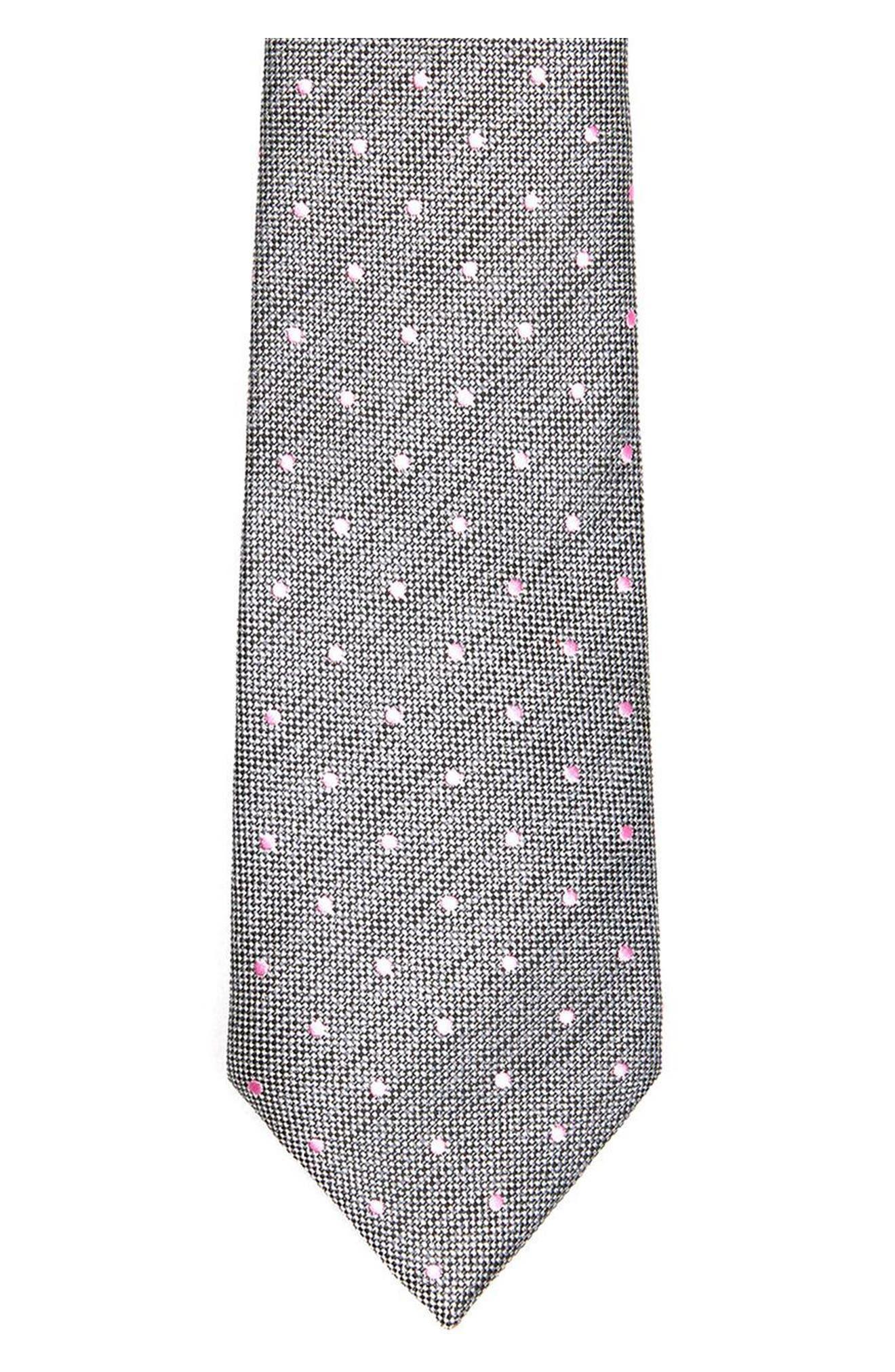 Alternate Image 2  - Topman Dot Woven Tie