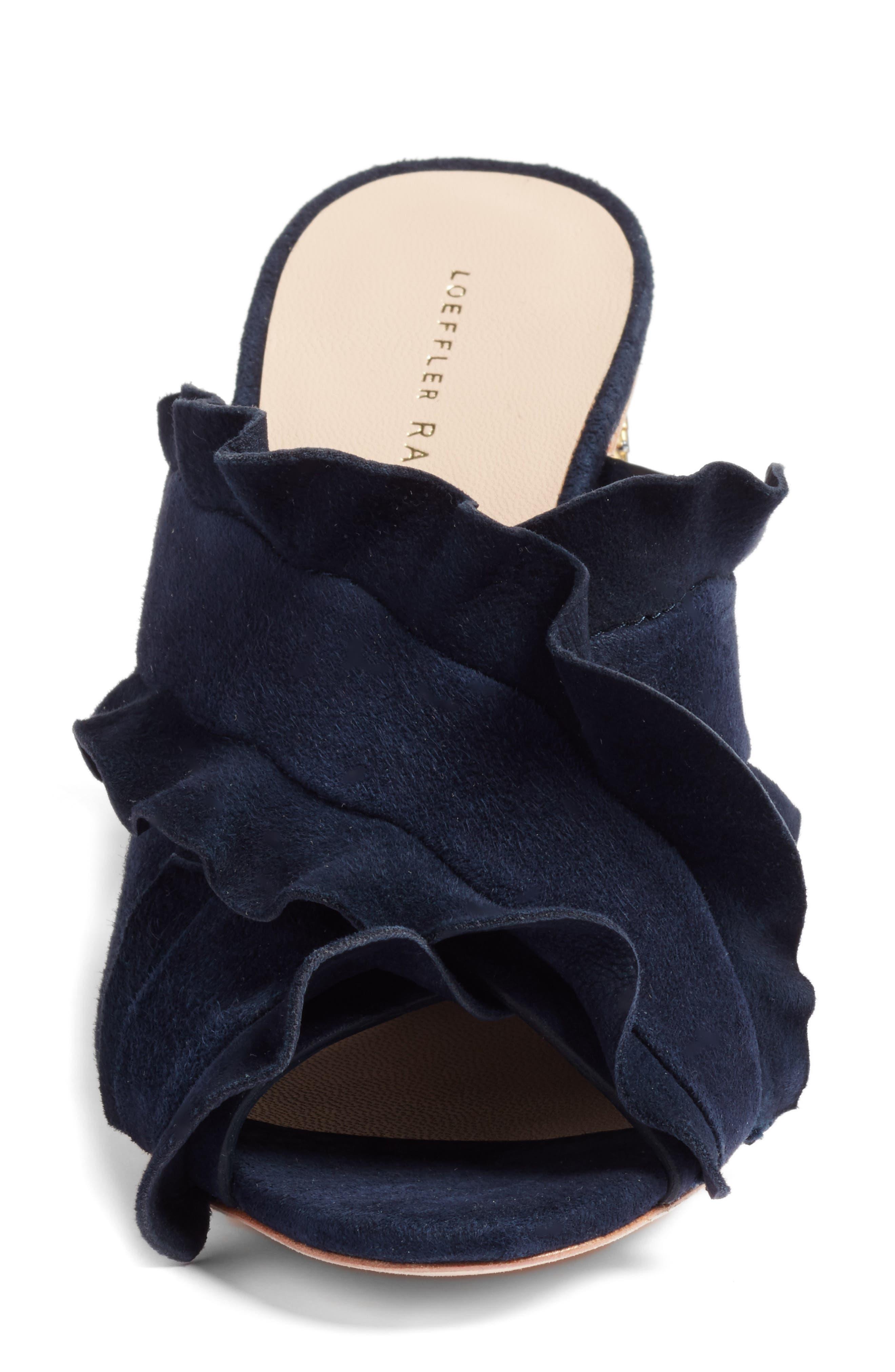 Alternate Image 4  - Loeffler Randall Kaya Embellished Ruffle Slide Sandal (Women)
