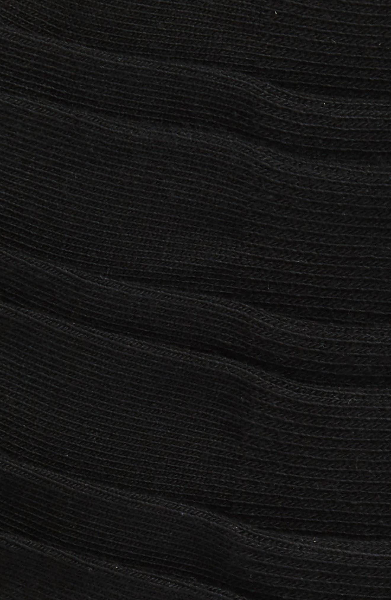6-Pack Athletic No-Show Socks,                             Alternate thumbnail 2, color,                             Black
