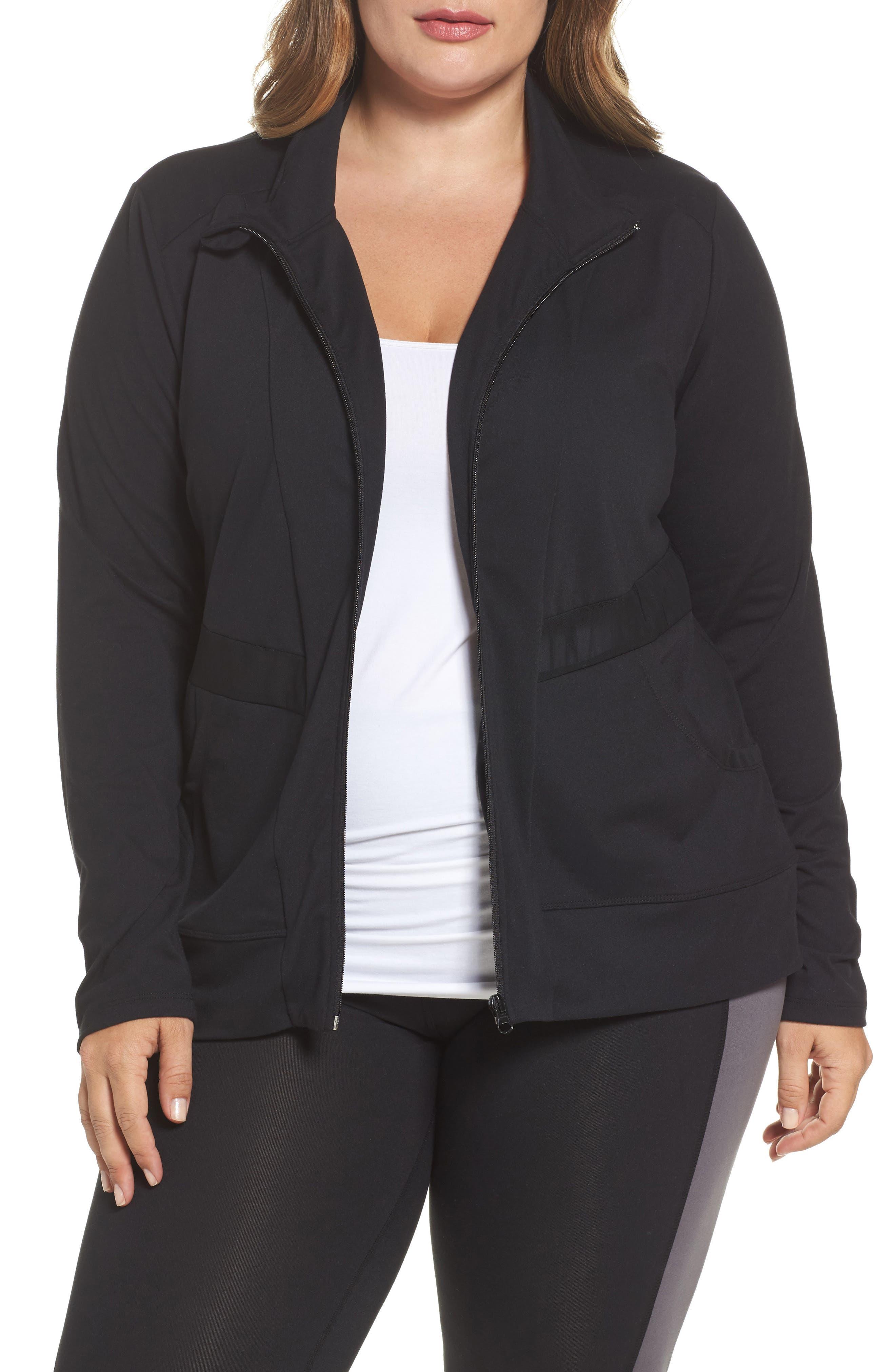Main Image - Marika Curves Adrenaline Jacket (Plus Size)
